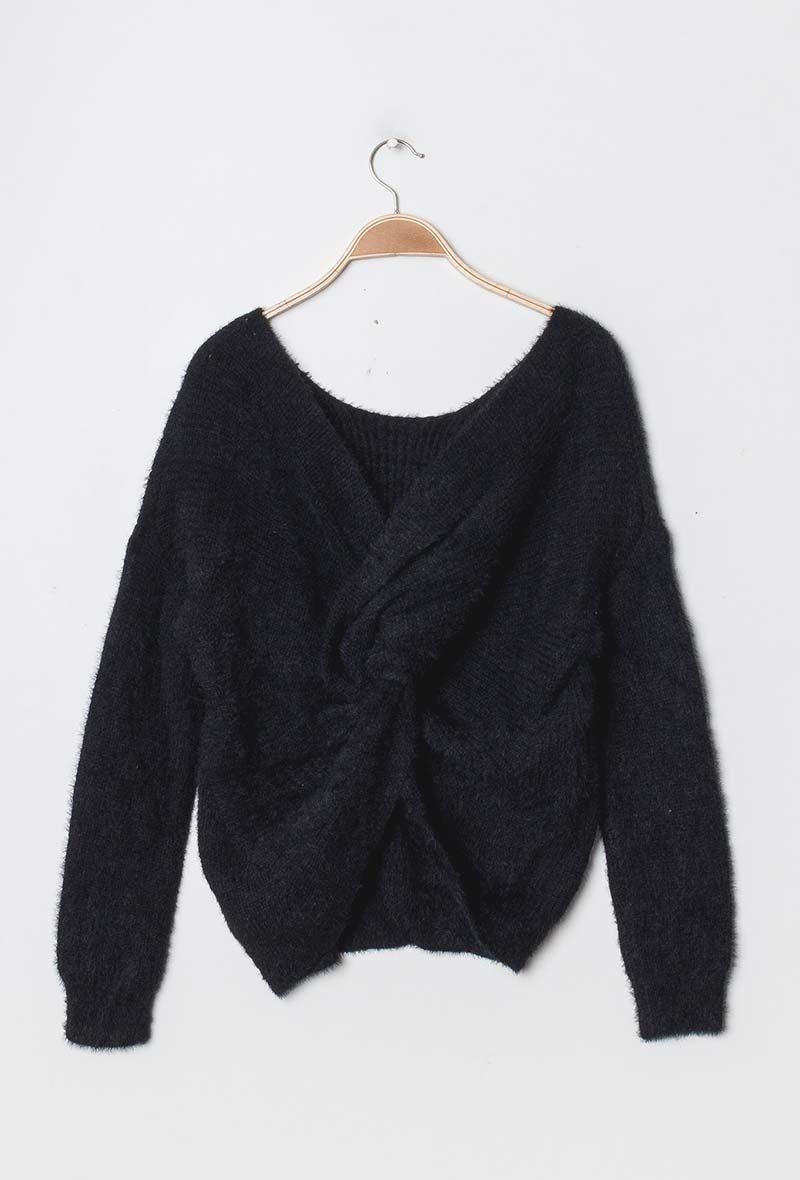 "Knot Sweater ""Jane Fluffy"""