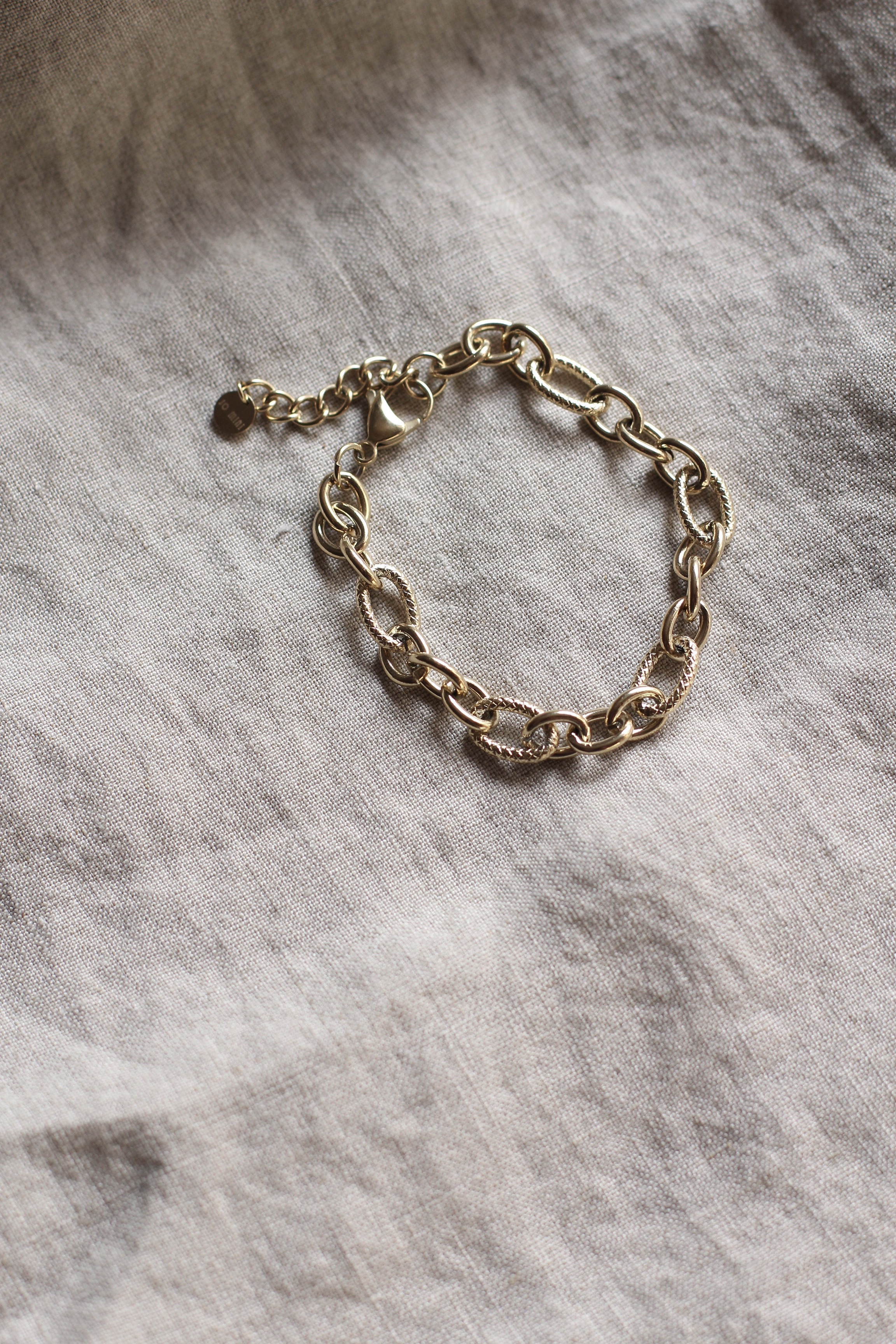 "Chunky Chain Bracelet ""Celine"""