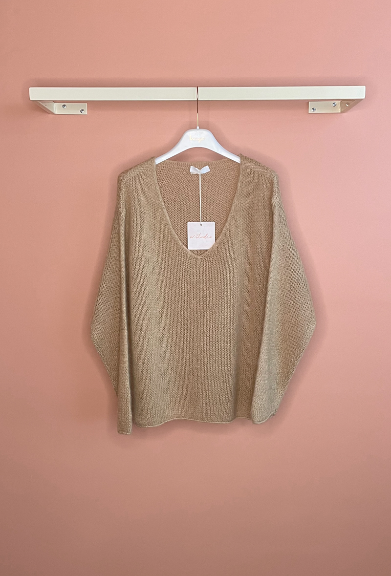 """Pullover Mohair Blend """"Jazzy"""""""