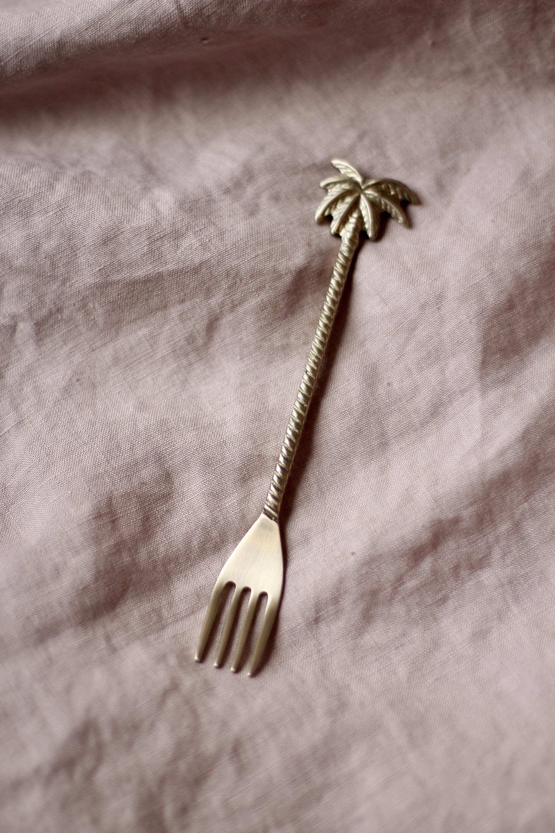 Vintage Palmen Gabel