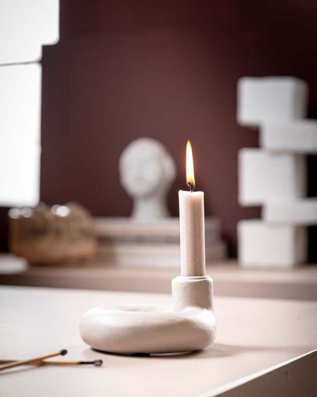 Ecomix Candle Holder Sand by vtwonen