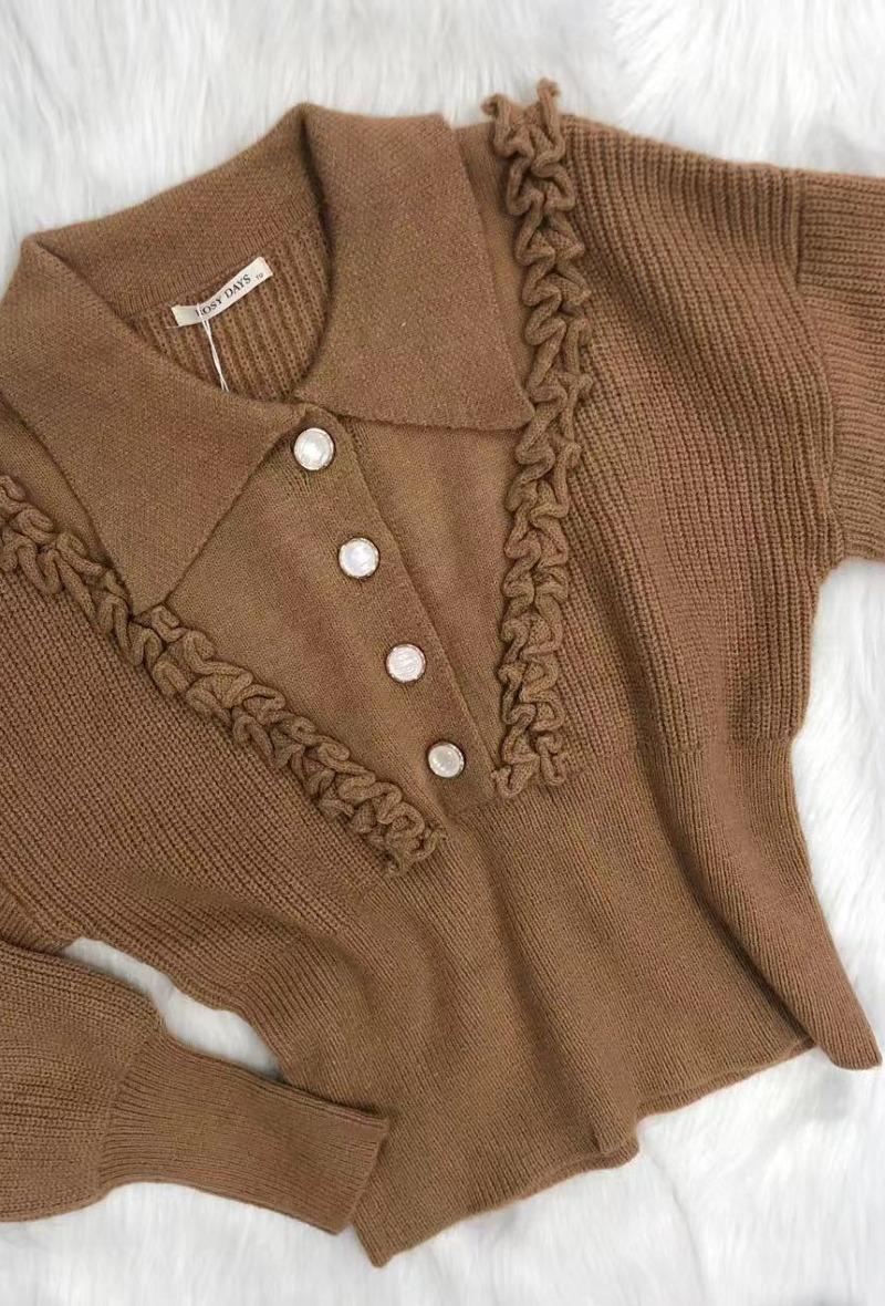 """Knit Collar Sweater """"Jillian"""""""