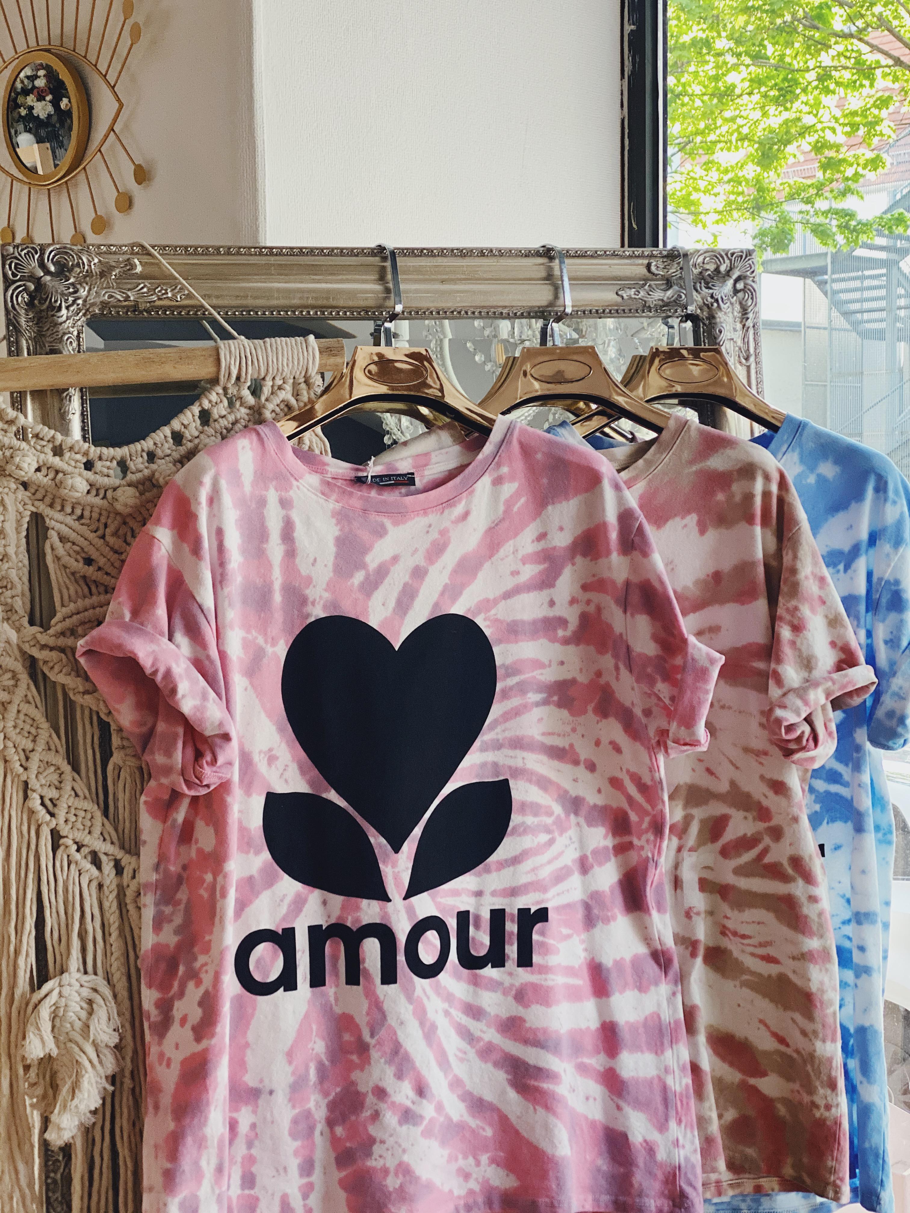 "Shirt ""AMOUR TIE DYE"""