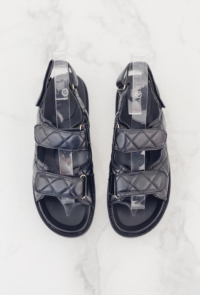 Dad Sandals Gesteppte Sandalen