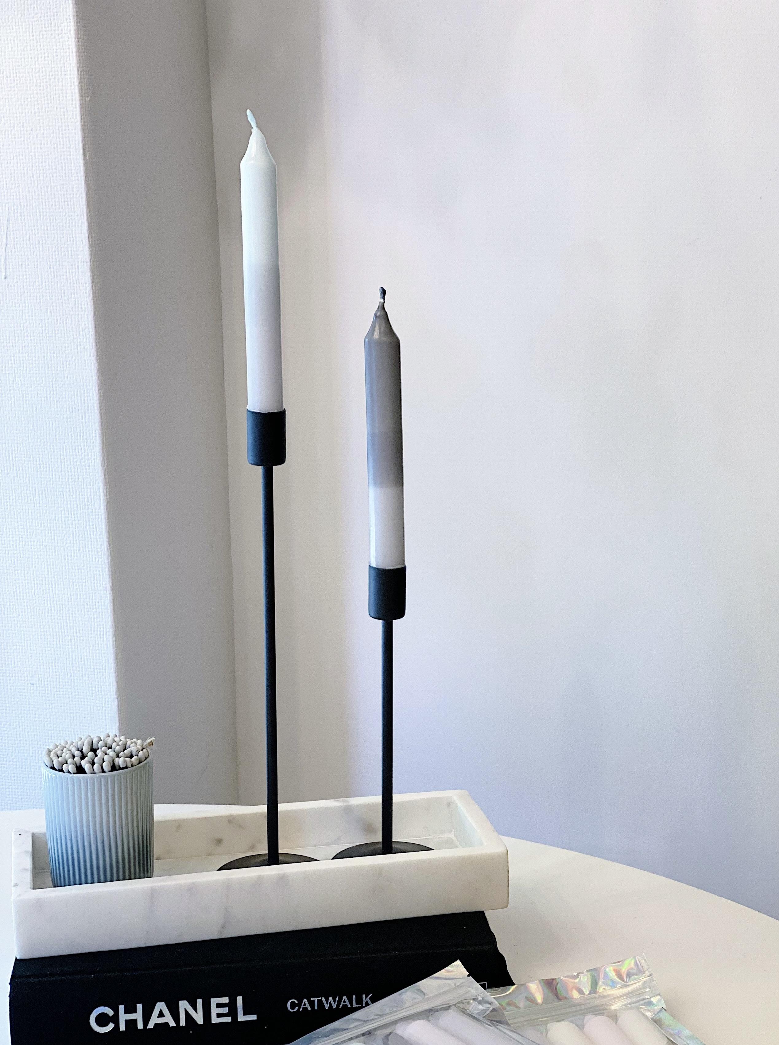 Metall Kerzenständer 2er Set Scandi