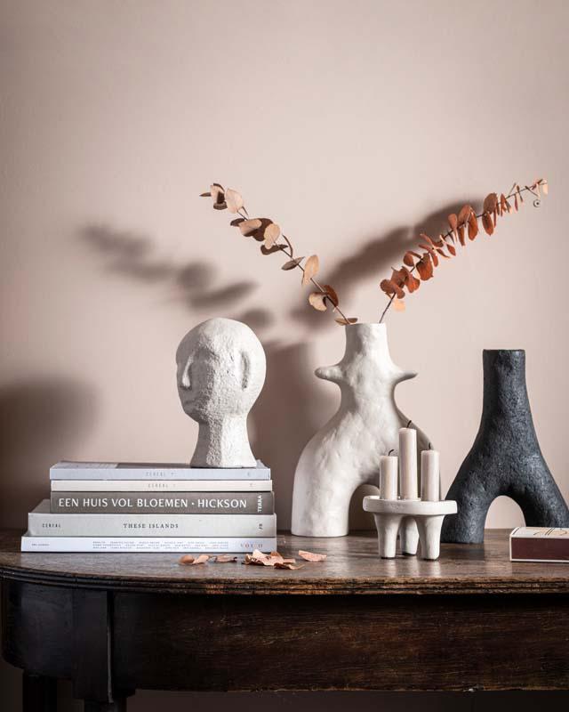 Ecomix Vase Twig Black by vtwonen