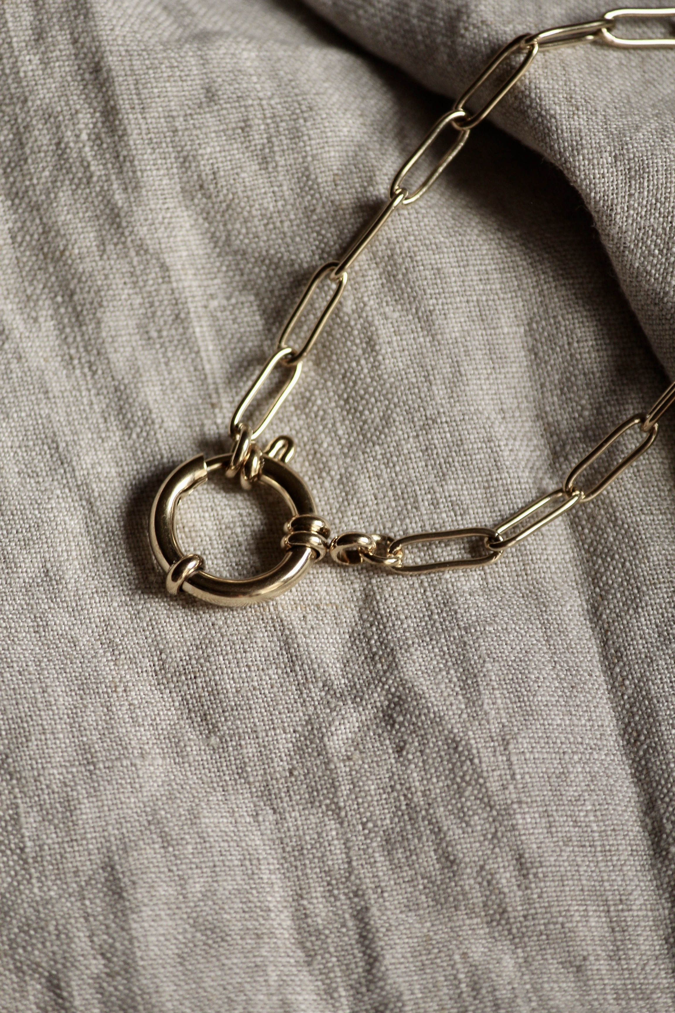 "Chunky Charm Bracelet ""Liv"""