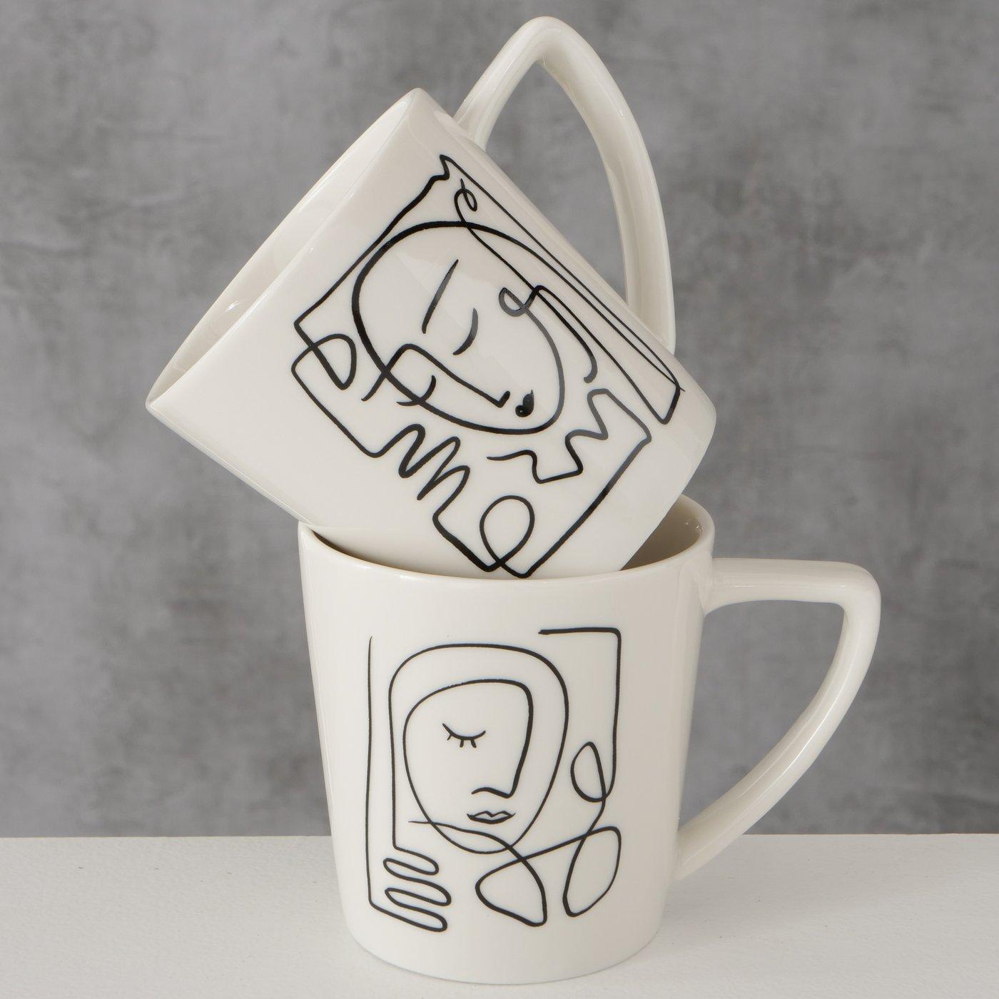 """Mug Tasse """"Faces"""""""