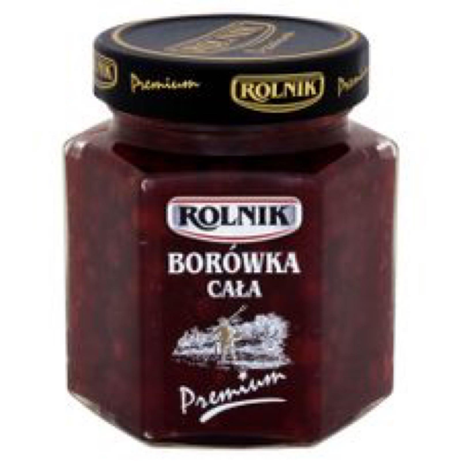 Kokonaisia puolukoita - Borowka cala Rolnik 300g