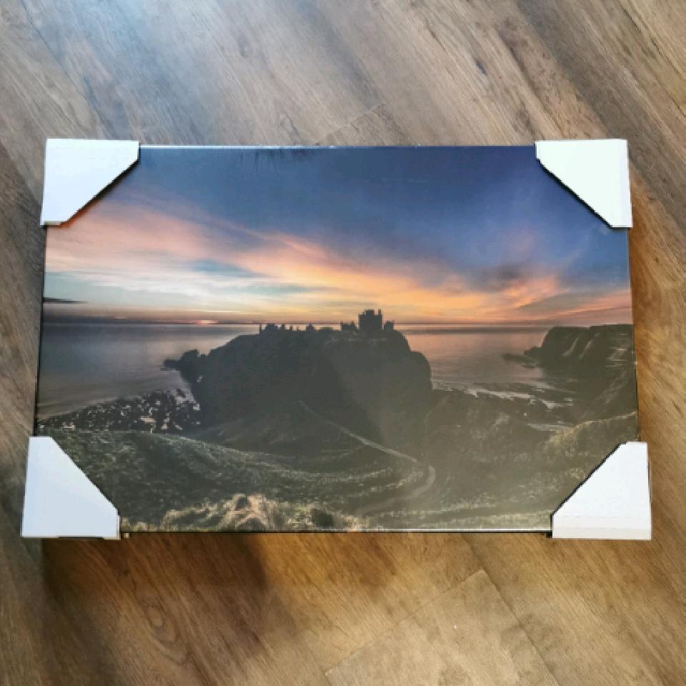 Dunnottar Sunrise, 60x40cm canvas, 3/10