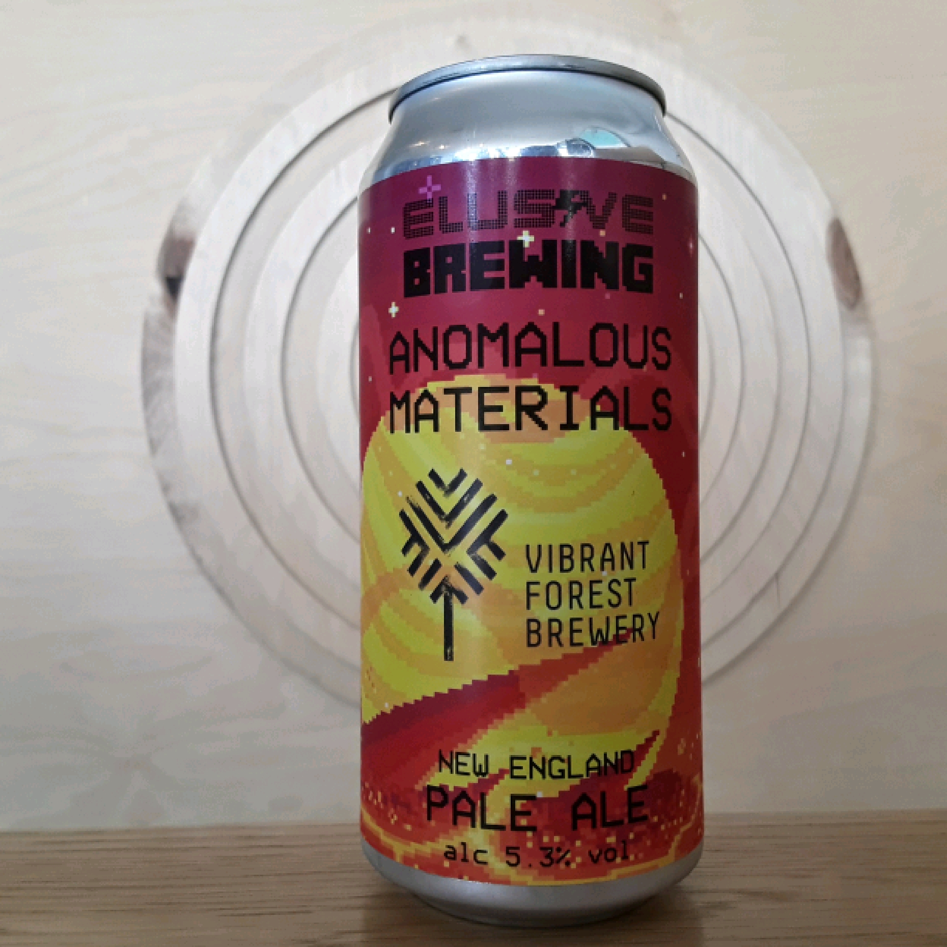 Elusive Brewing X Vibrant Forest | Anomalous Materials | Pale
