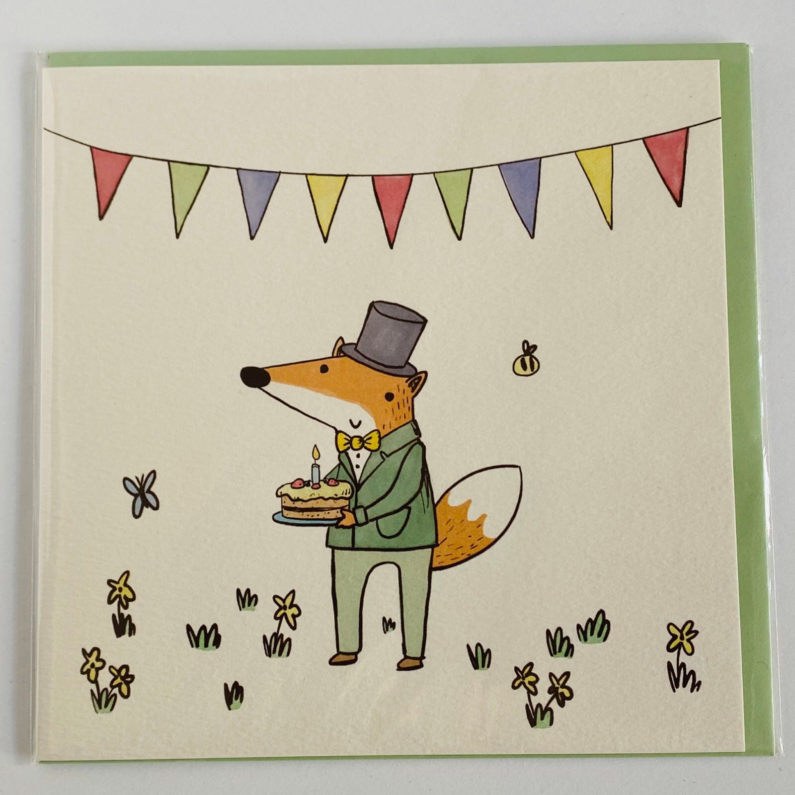 'Happy Birthday' Not Before Tea Card
