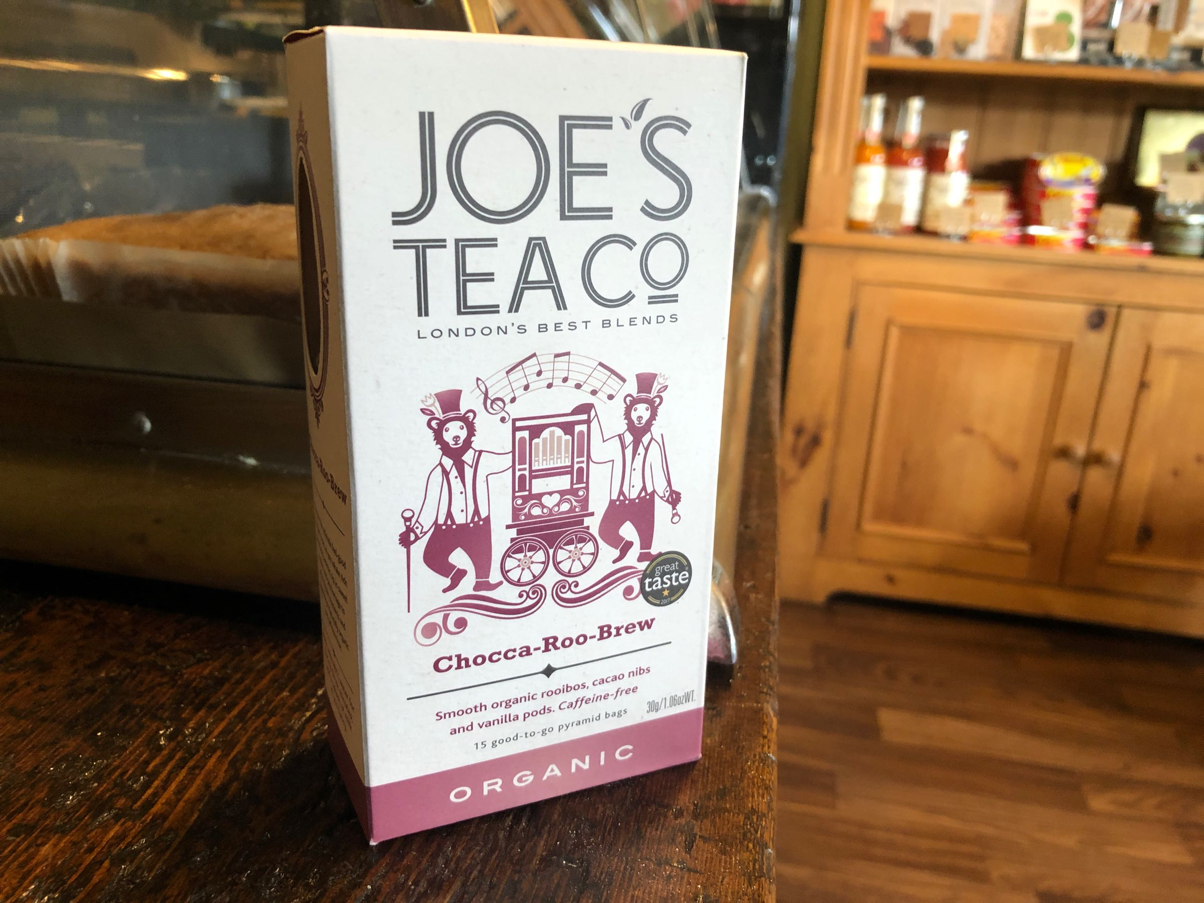 Joe's Tea Co. Chocca-Roo-Brew - Organic