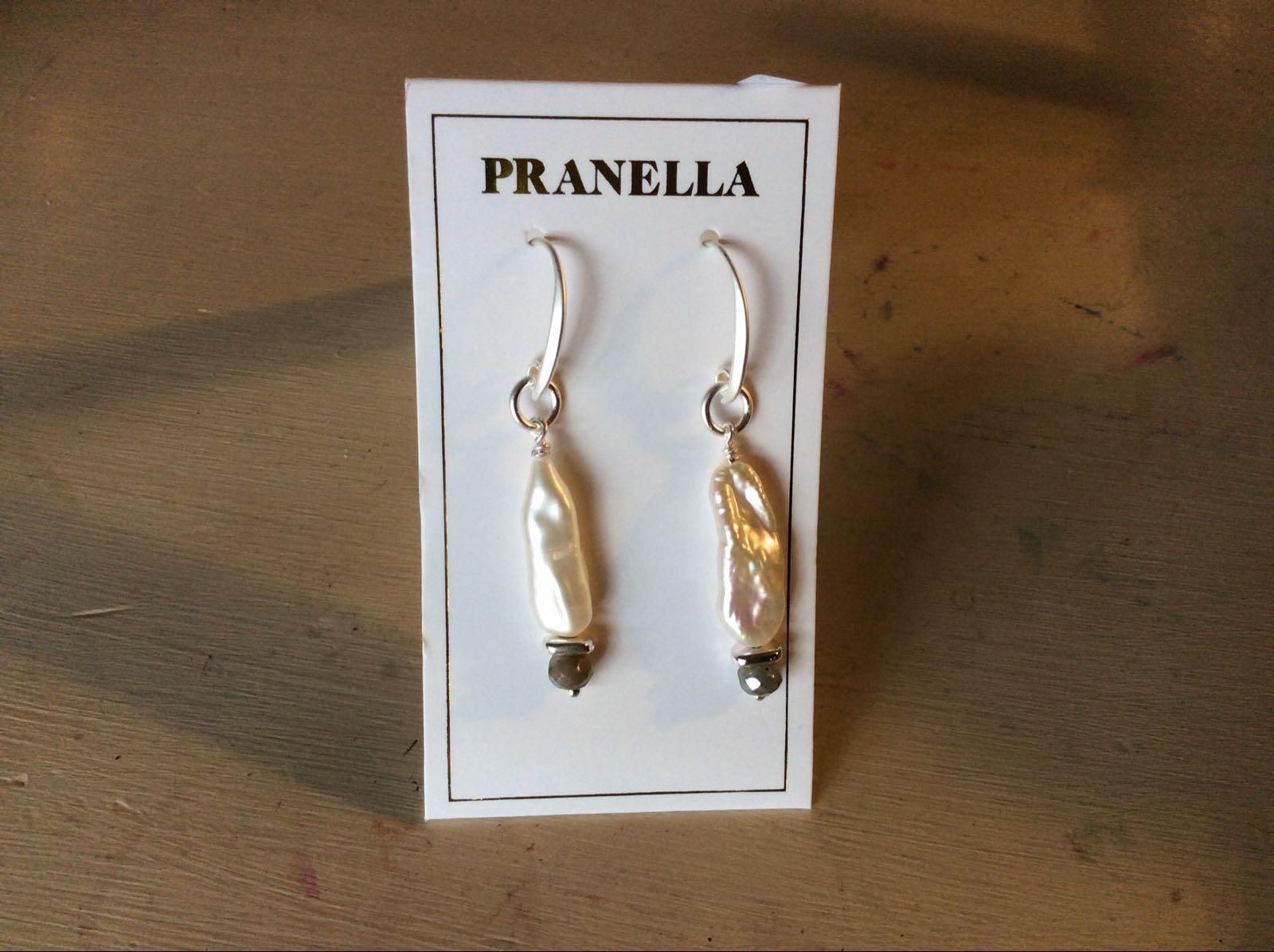 Pranella liberty pearl earrings £37