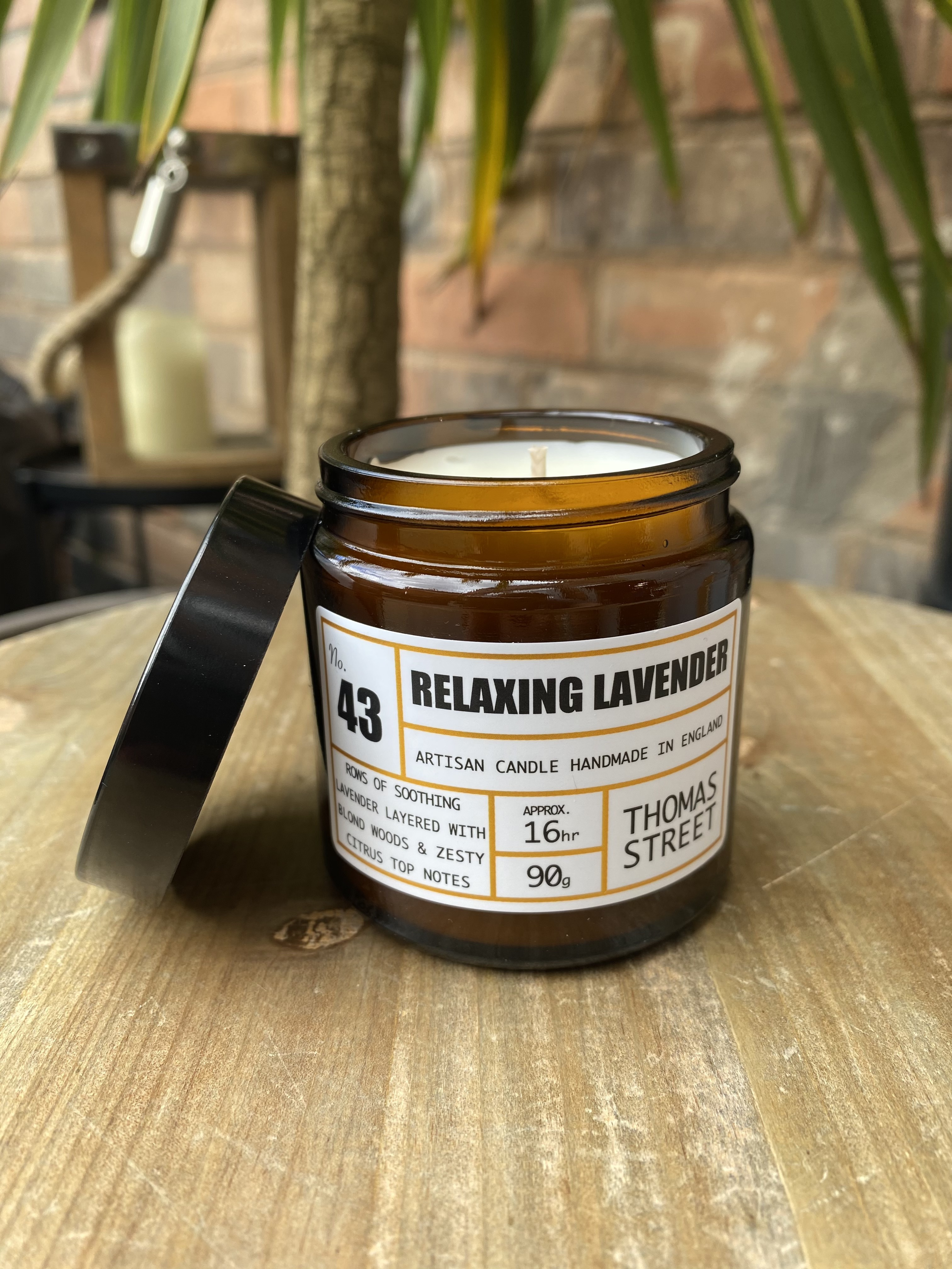Apothecary No.43 Relaxing Lavender Candle