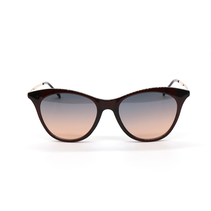 .Sunglasses - Black With Rose Gold Arms