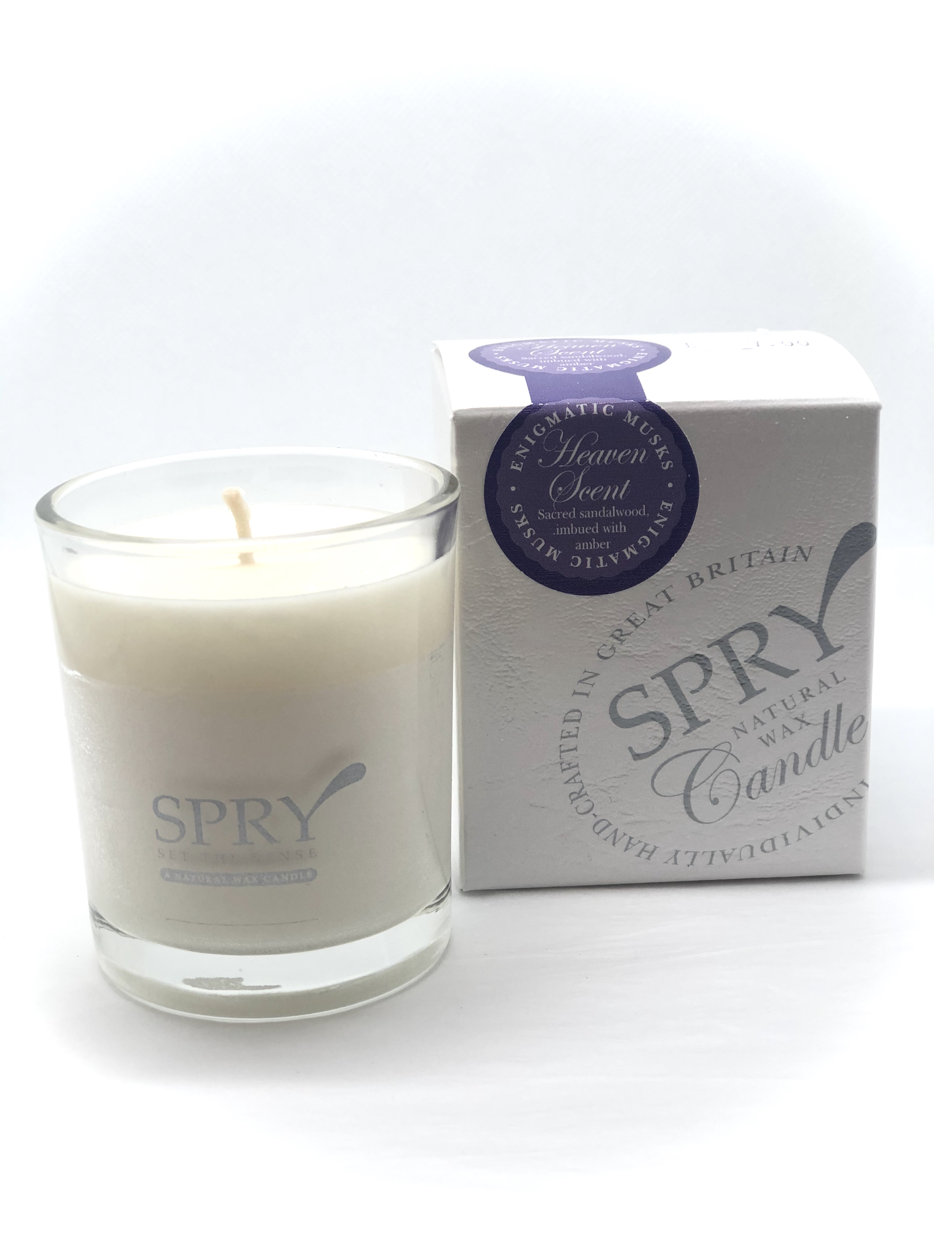 Spry Small Candle