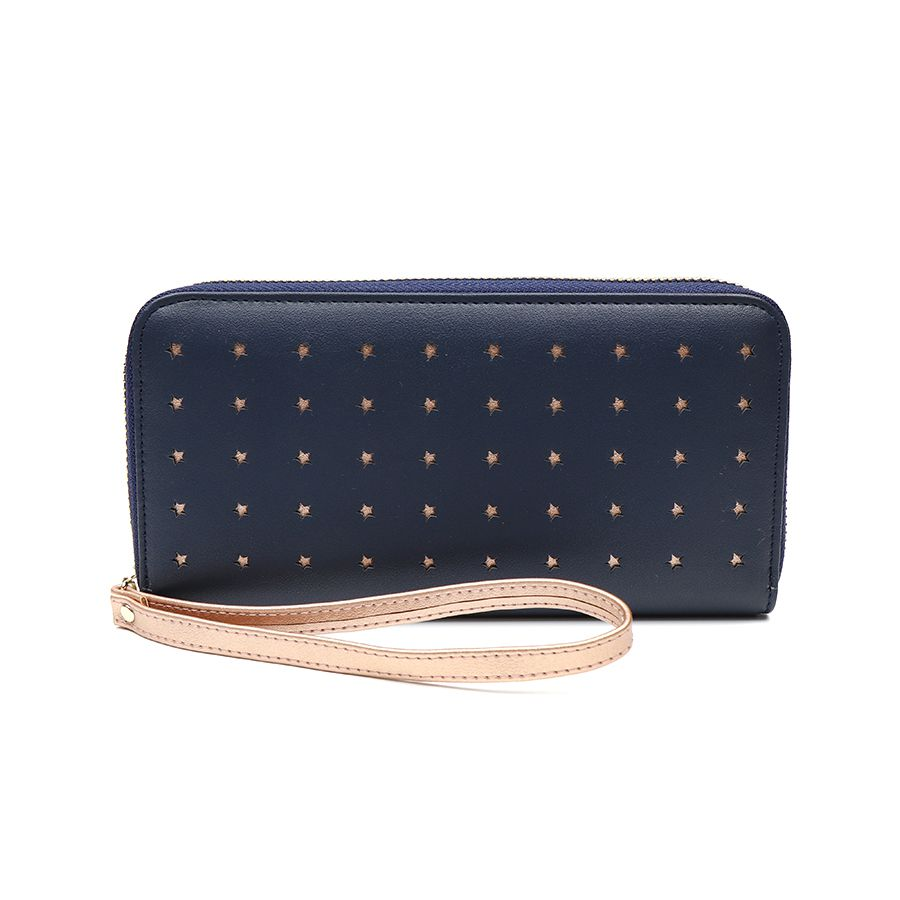 Navy Purse withRose Gold Stars