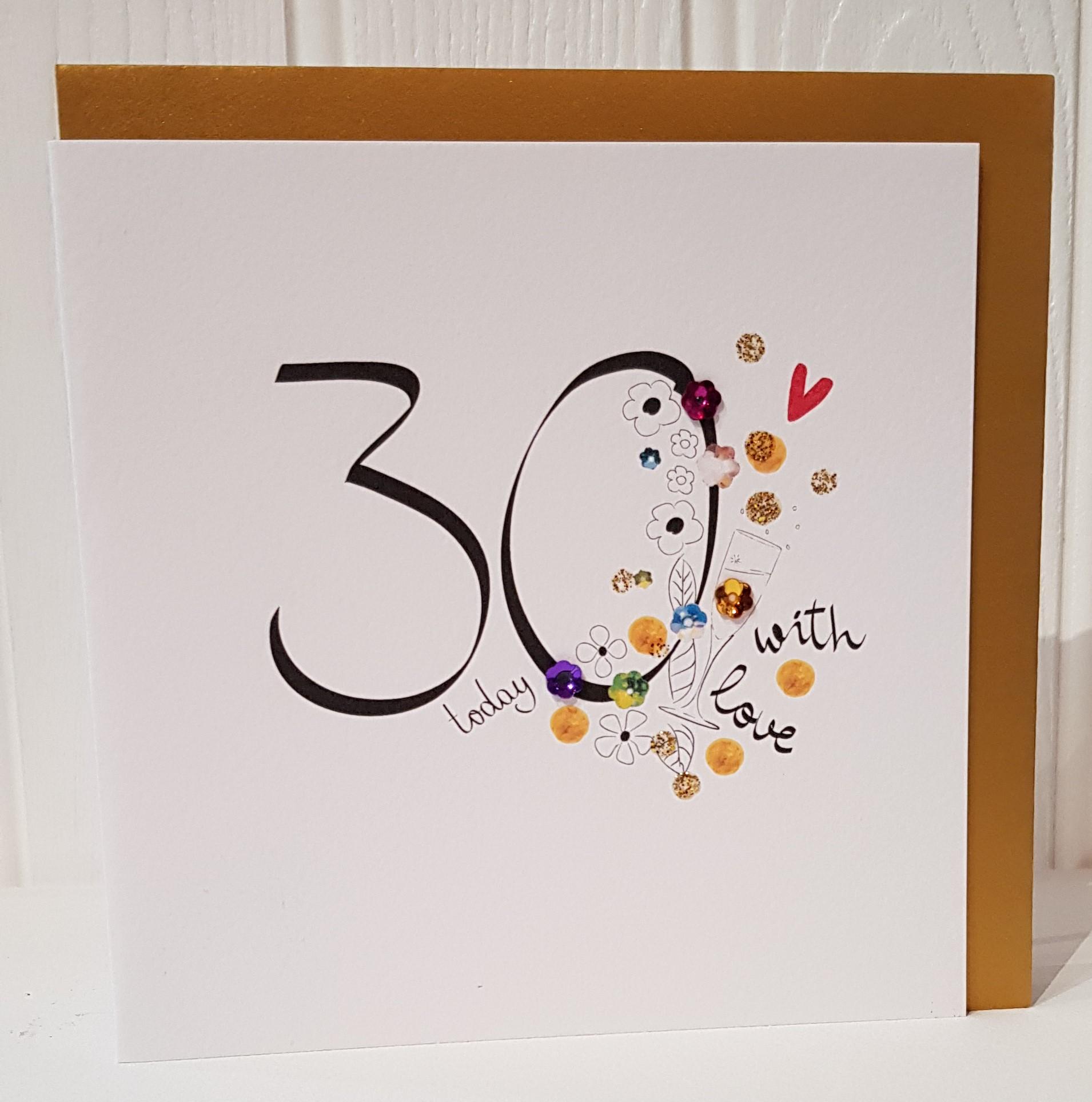 Birthday Age. 30