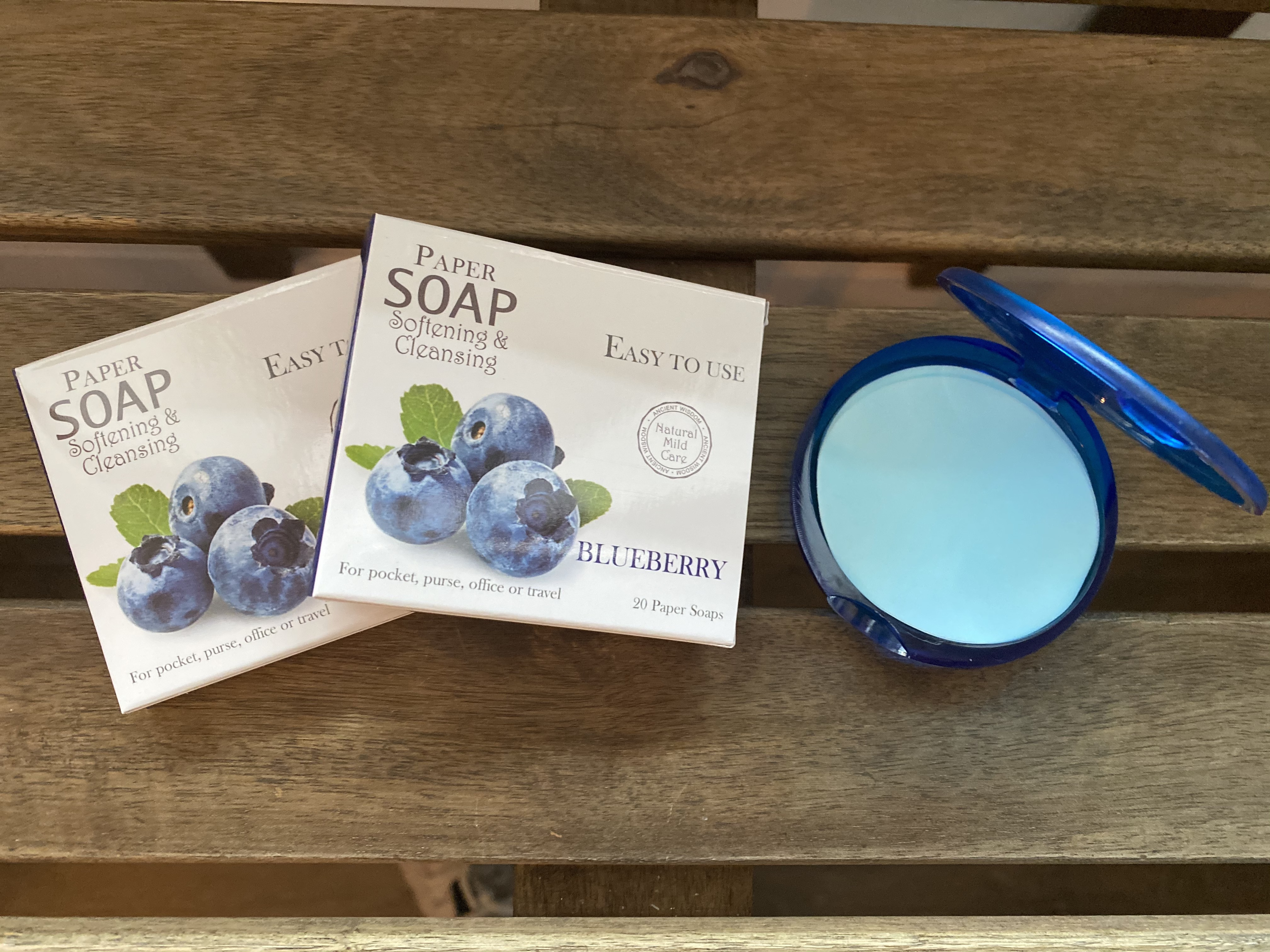 Paper Soap Blueberry