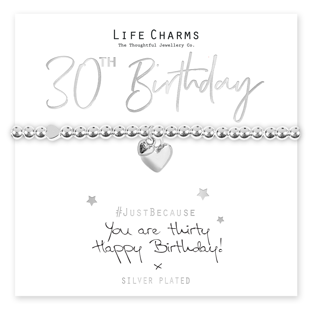 .Life Charms 30 Hearts