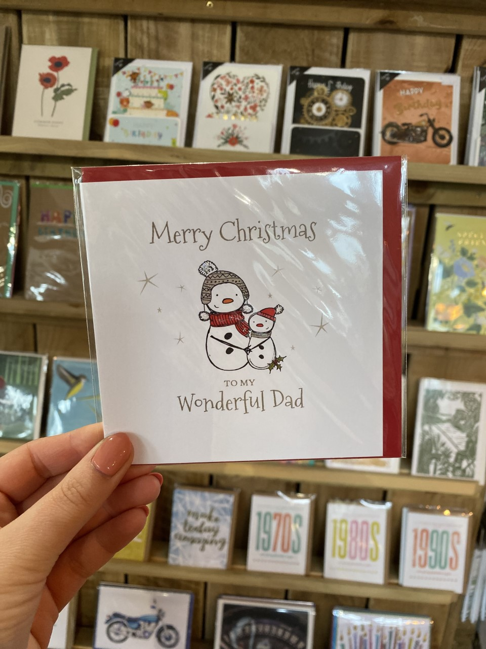 Wonderful Dad Snowmen Christmas