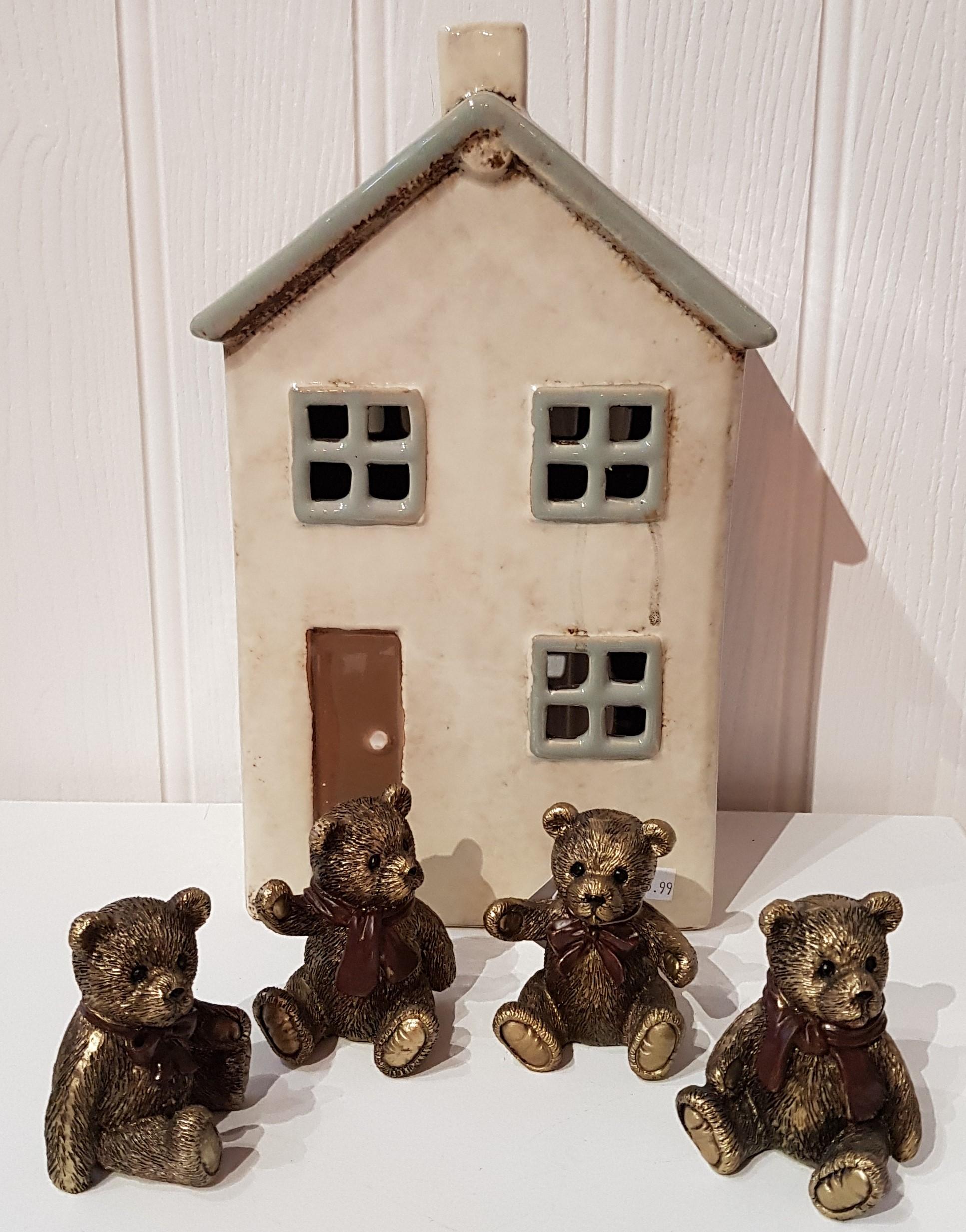 Teddy Bears Set of 4