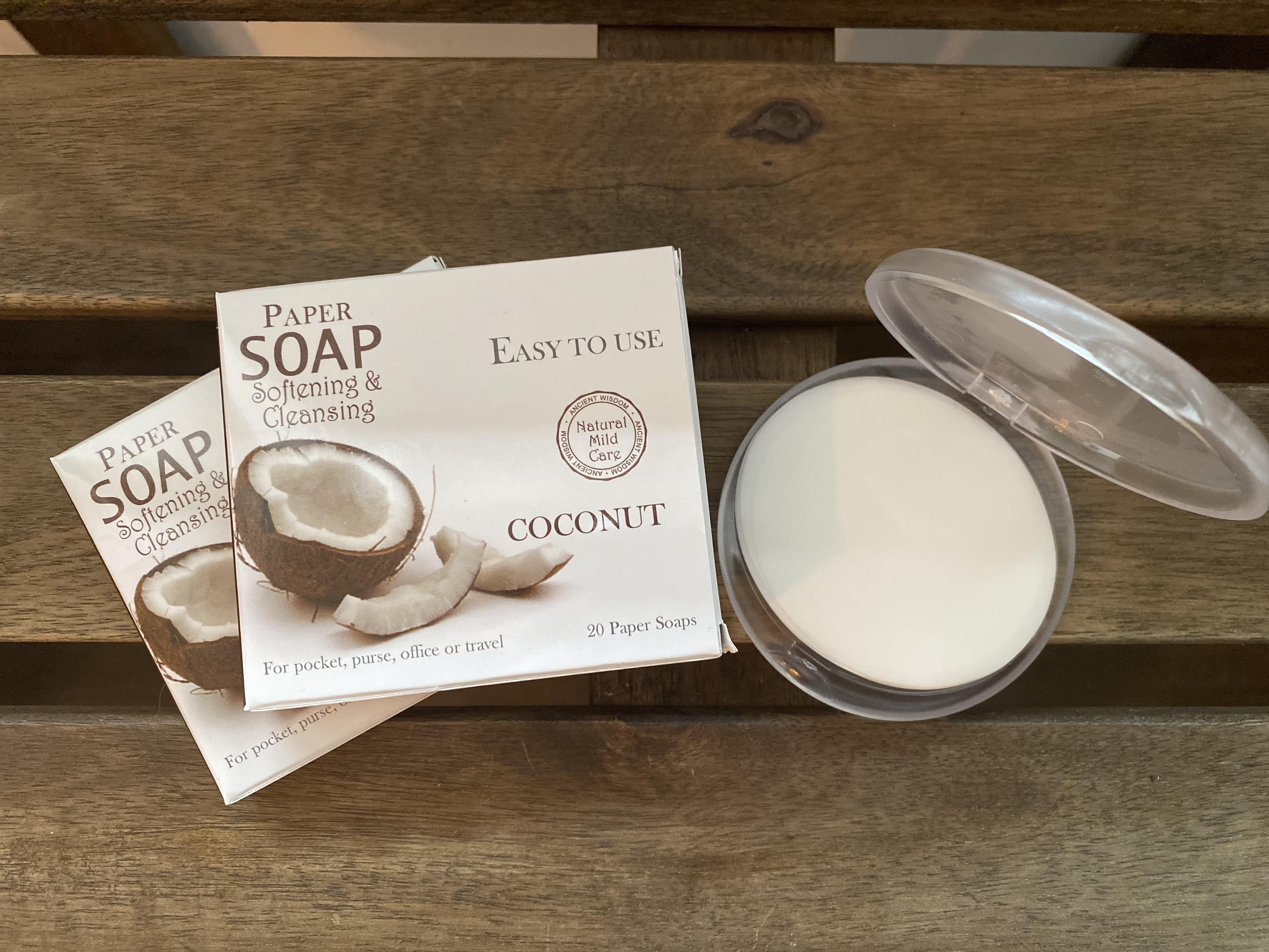 Paper Soap Coconut
