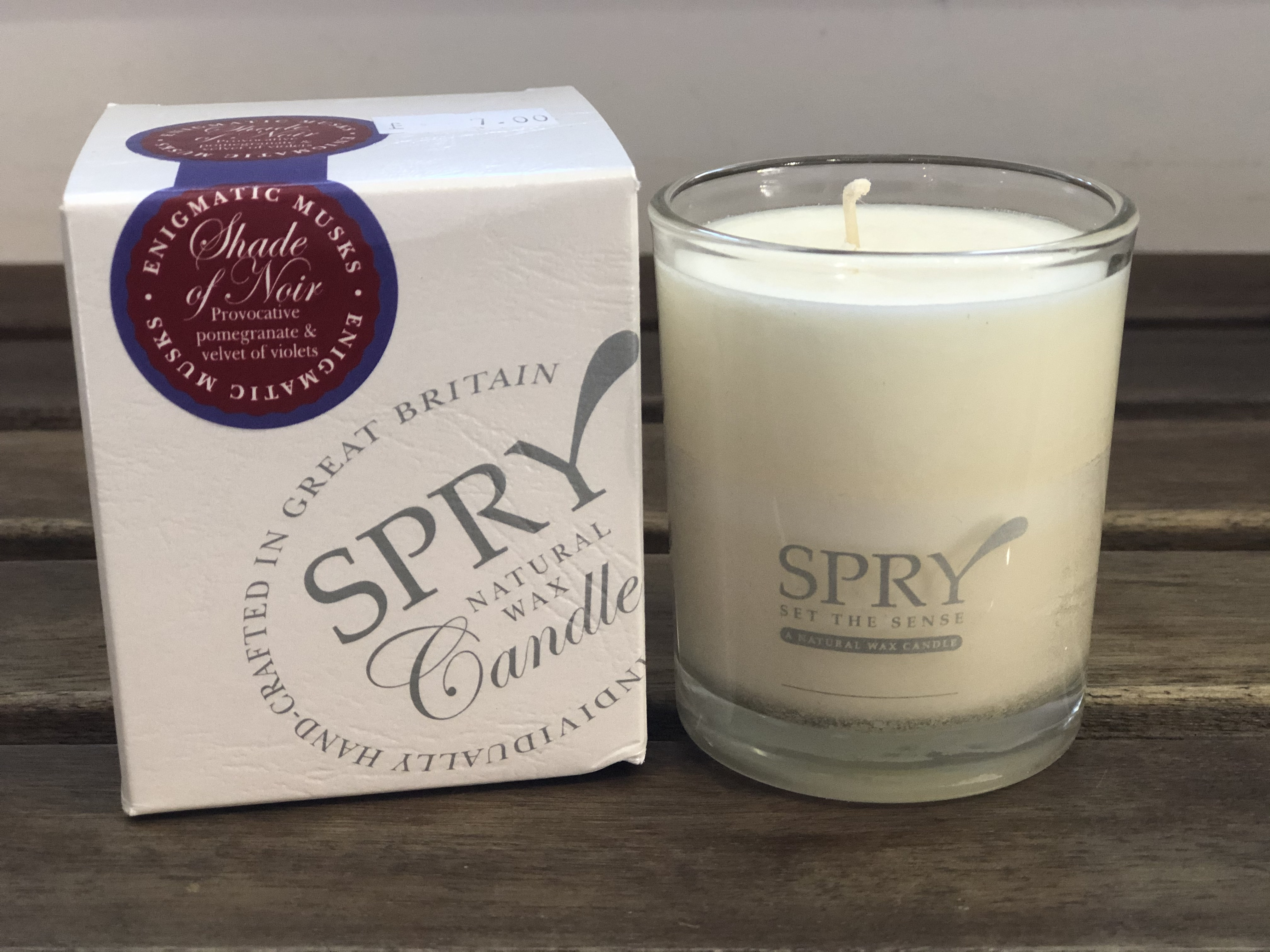 Candle Shade of Noir by Spry (Small)