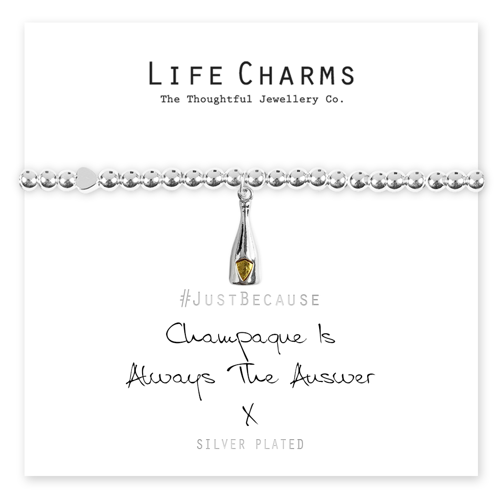 .Life Charms Champagne