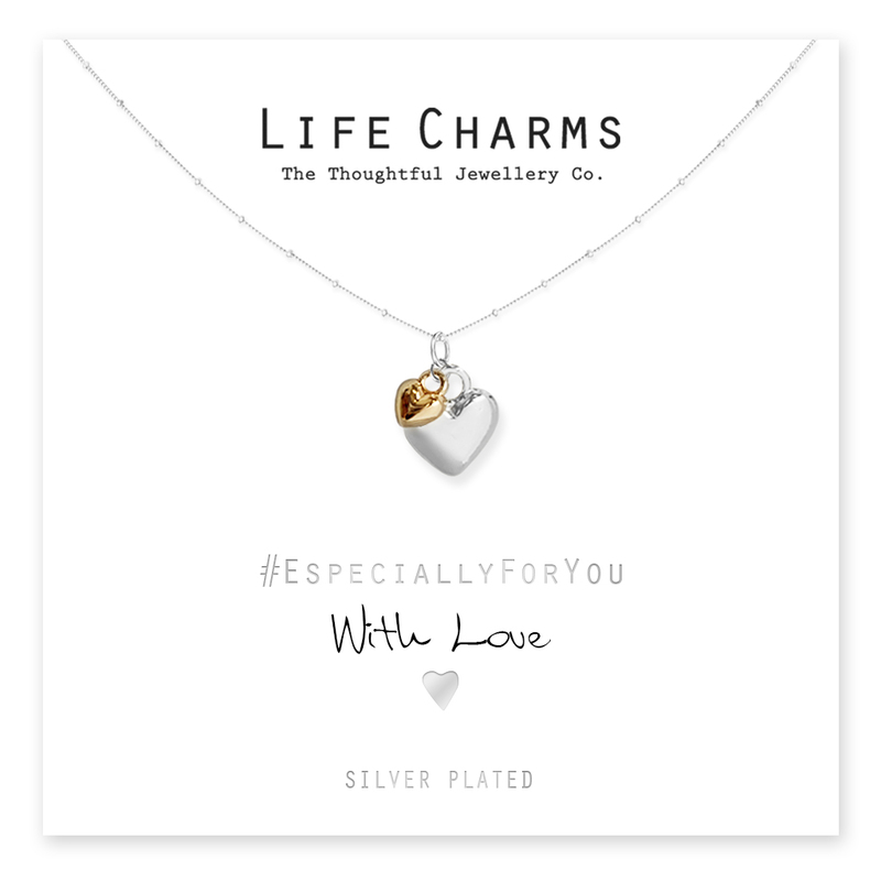 Life Charms Hearts Necklace