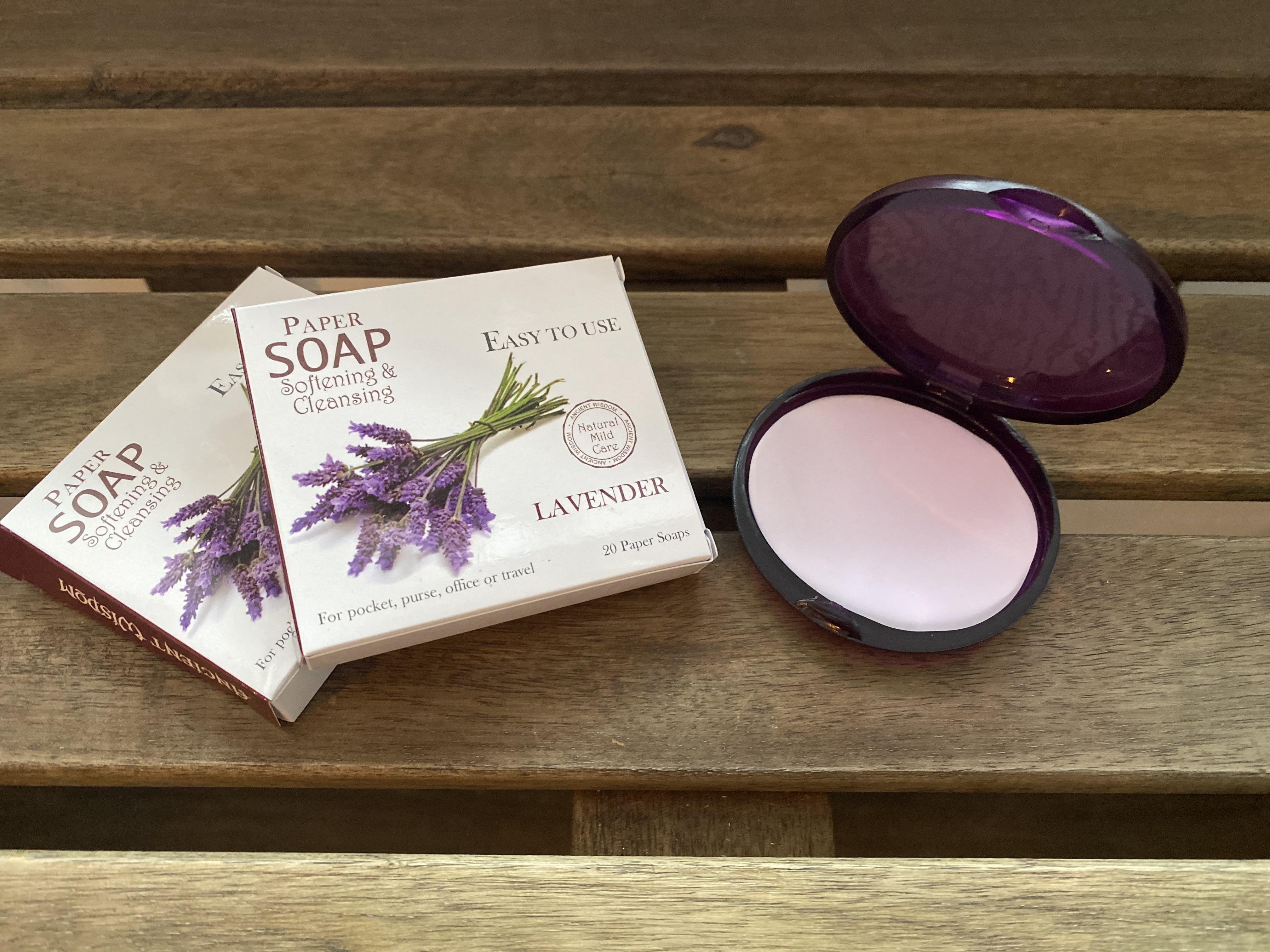Paper Soap Lavender