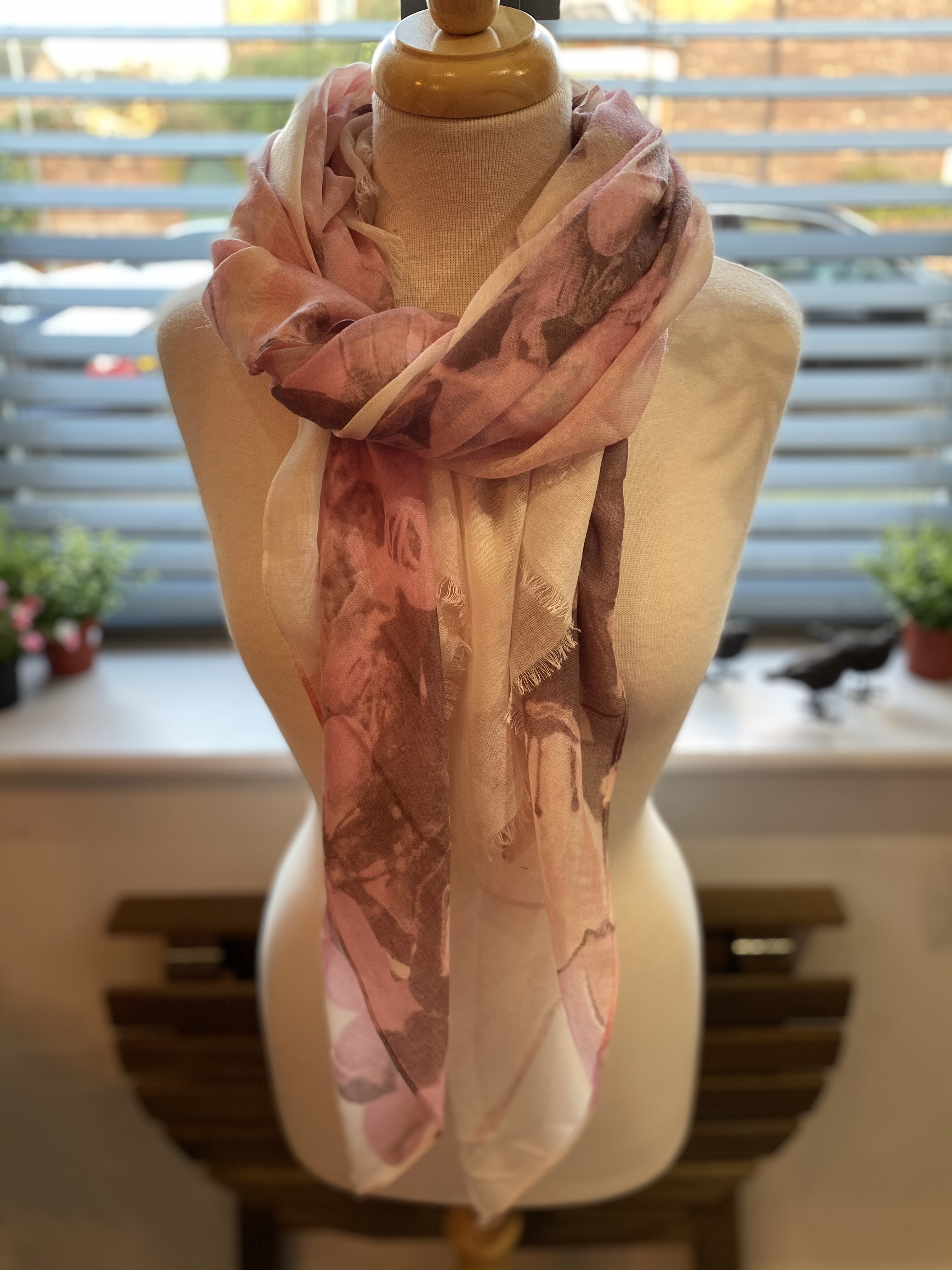 SALE NOW £8 Pink & Cream Floral