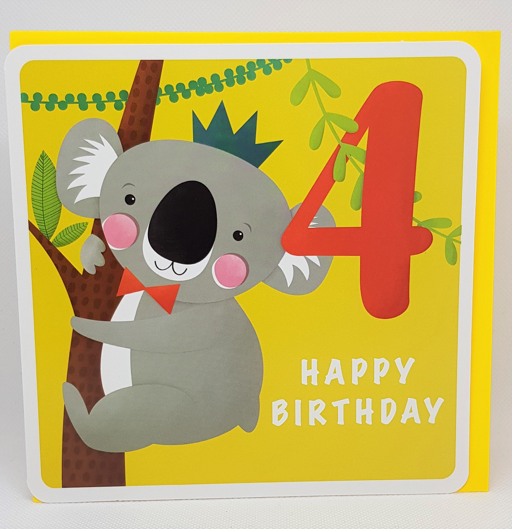 Birthday Age 4