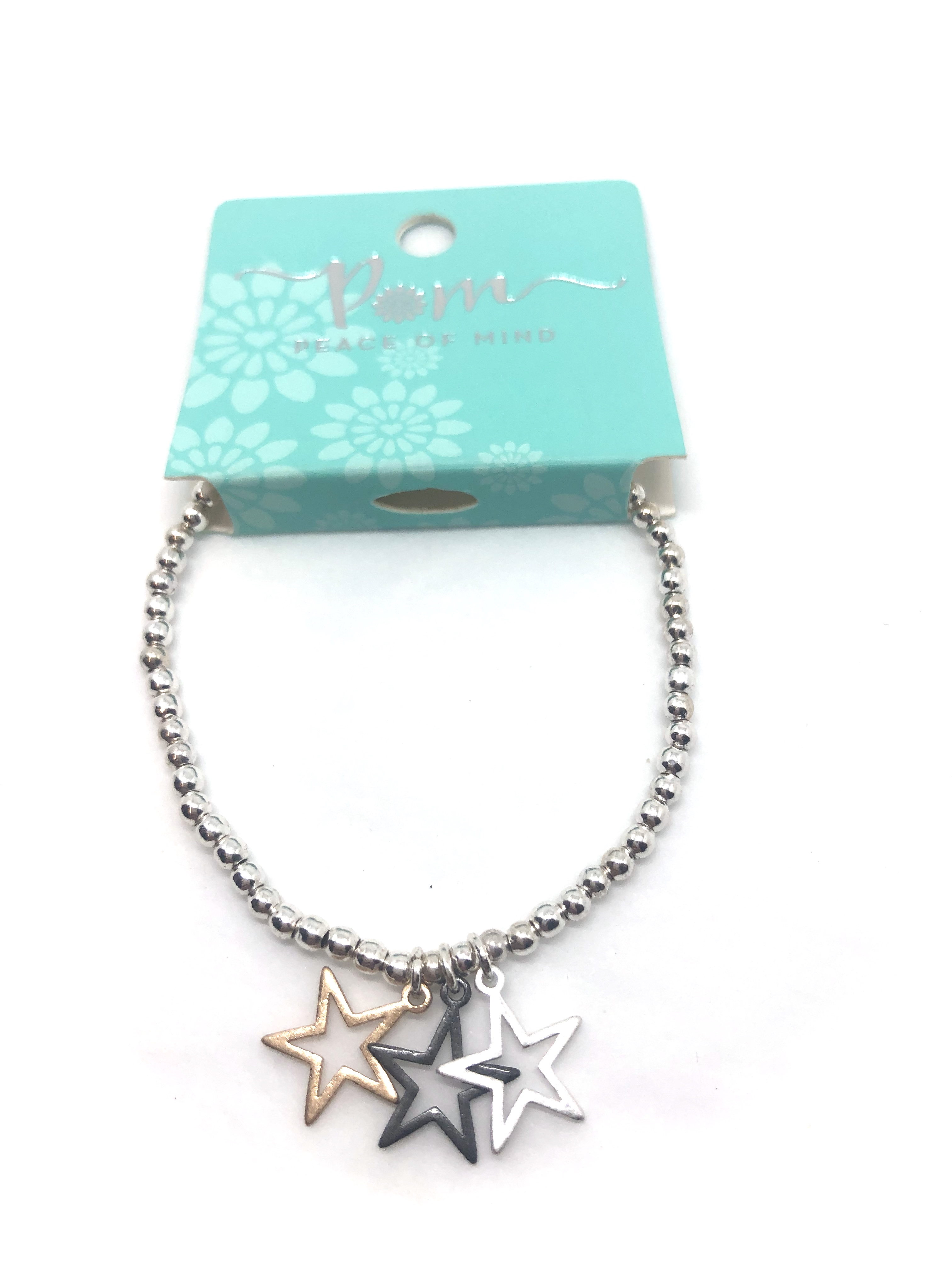 Bracelet (Pom) 3 Stars
