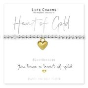 Life Charms Heart of Gold