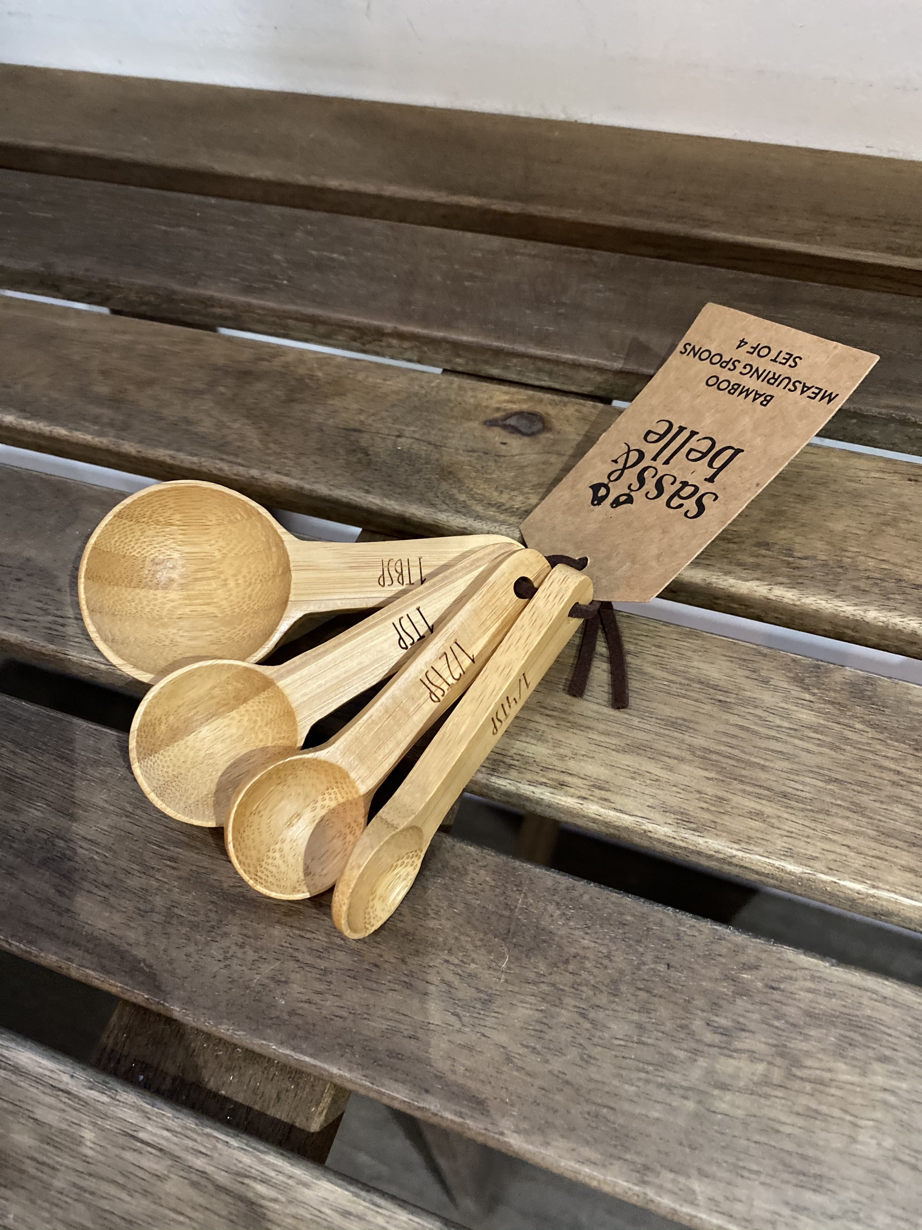 Bamboo Measuring Spoons