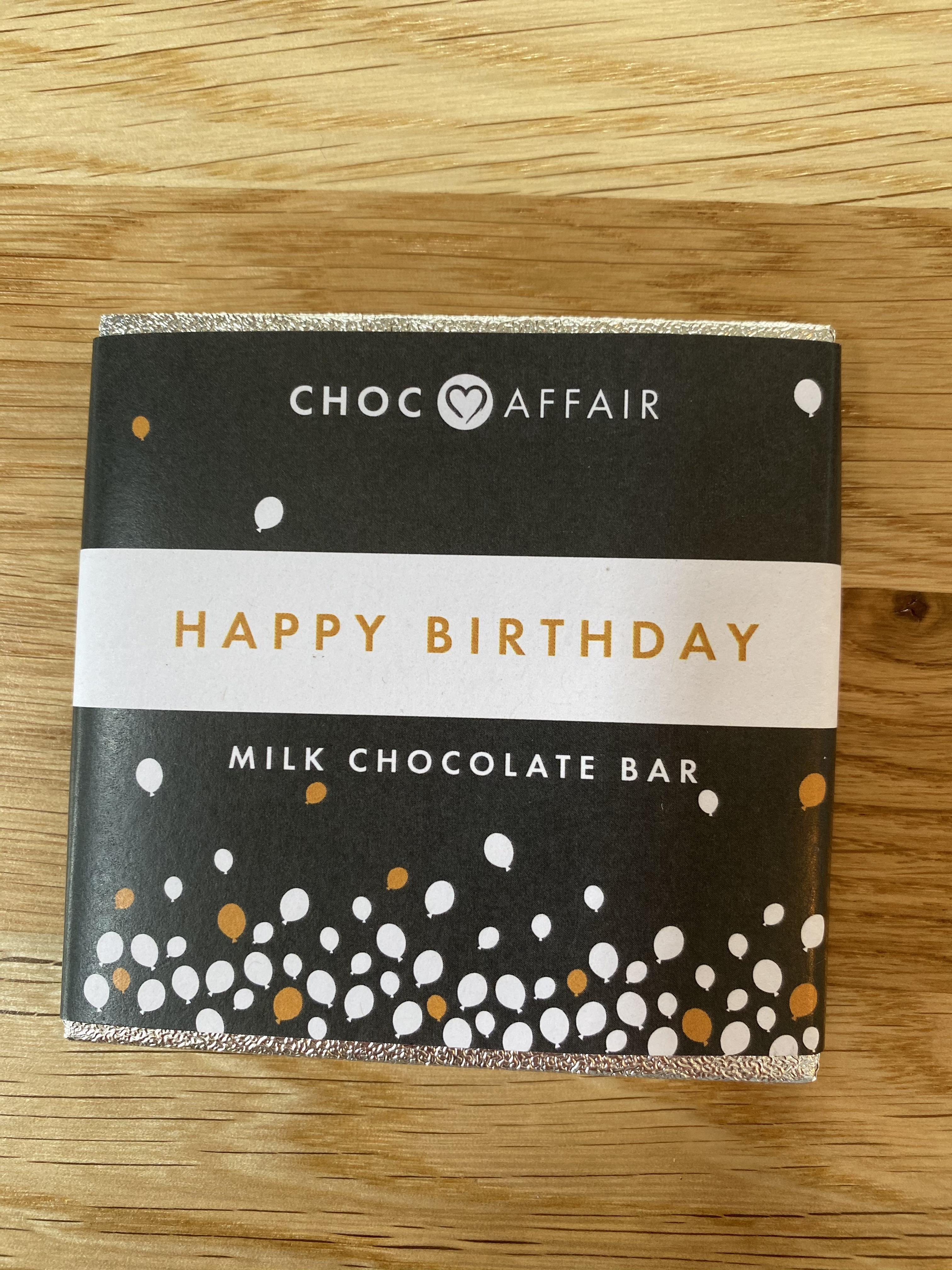Chocolate - Happy Birthday Milk