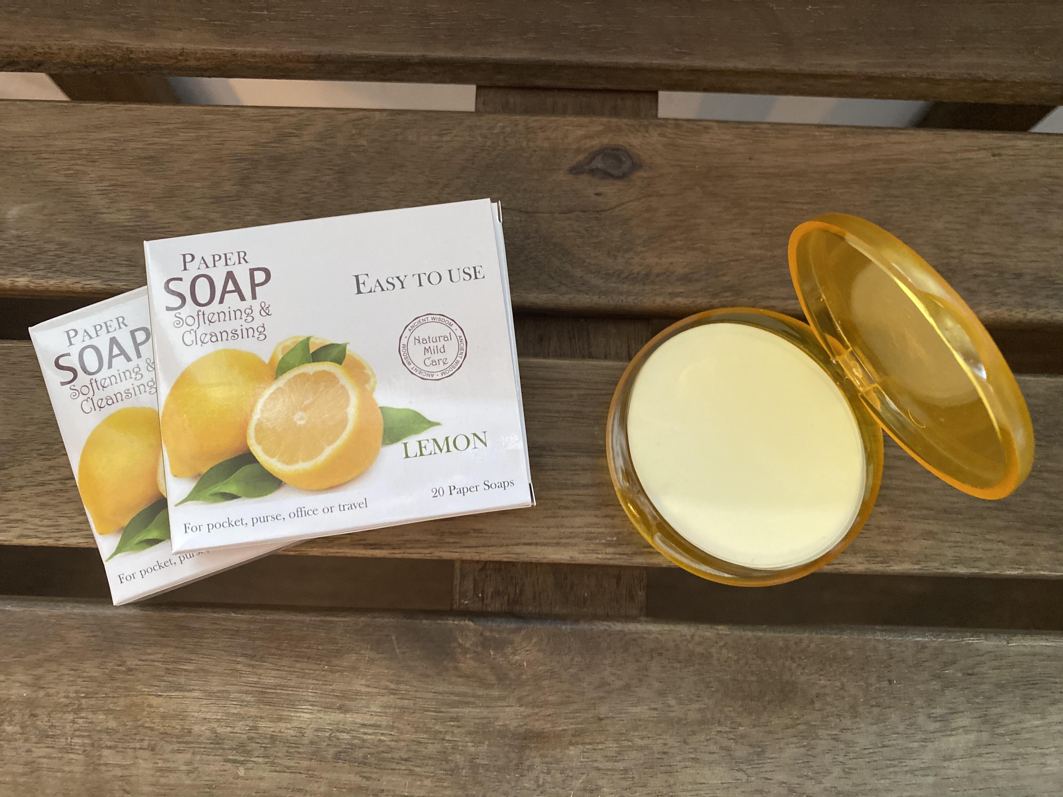 Paper Soap Lemon