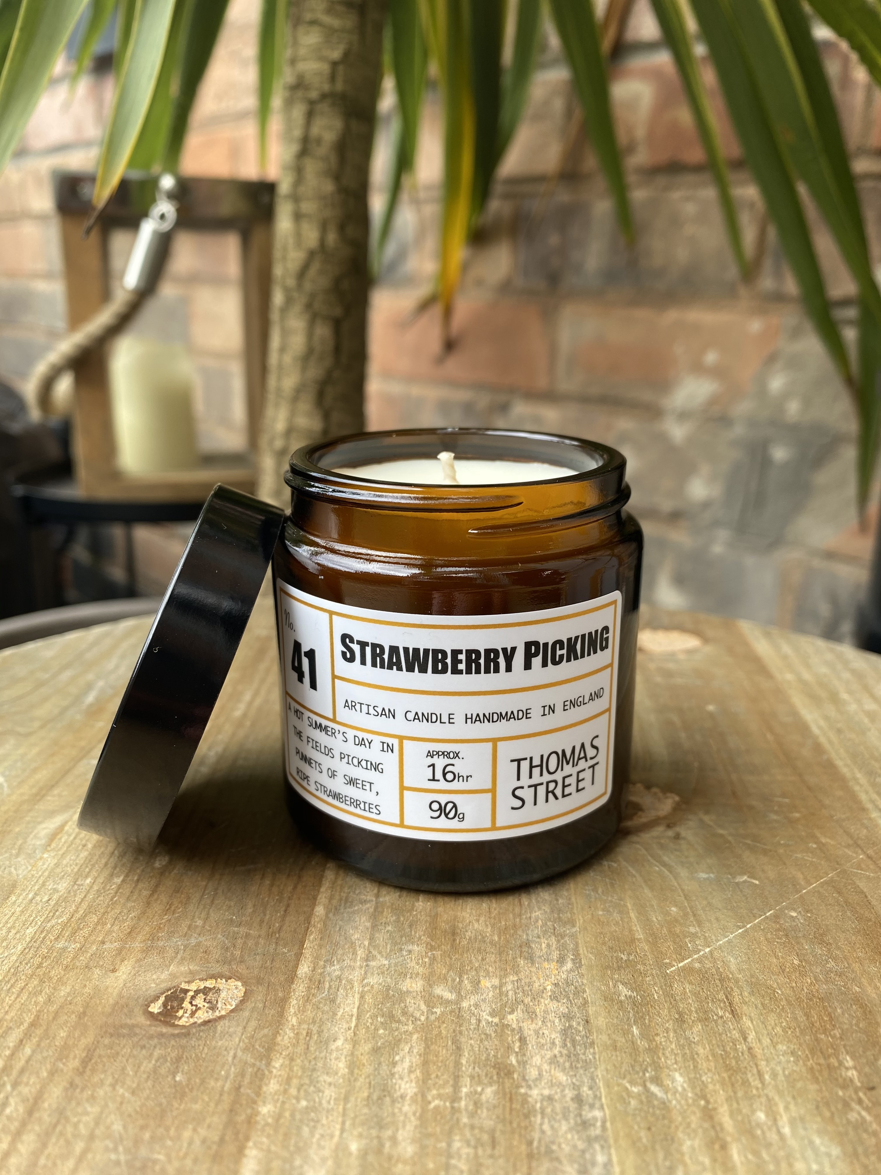 Apothecary No.41 Strawberry Picking Candle
