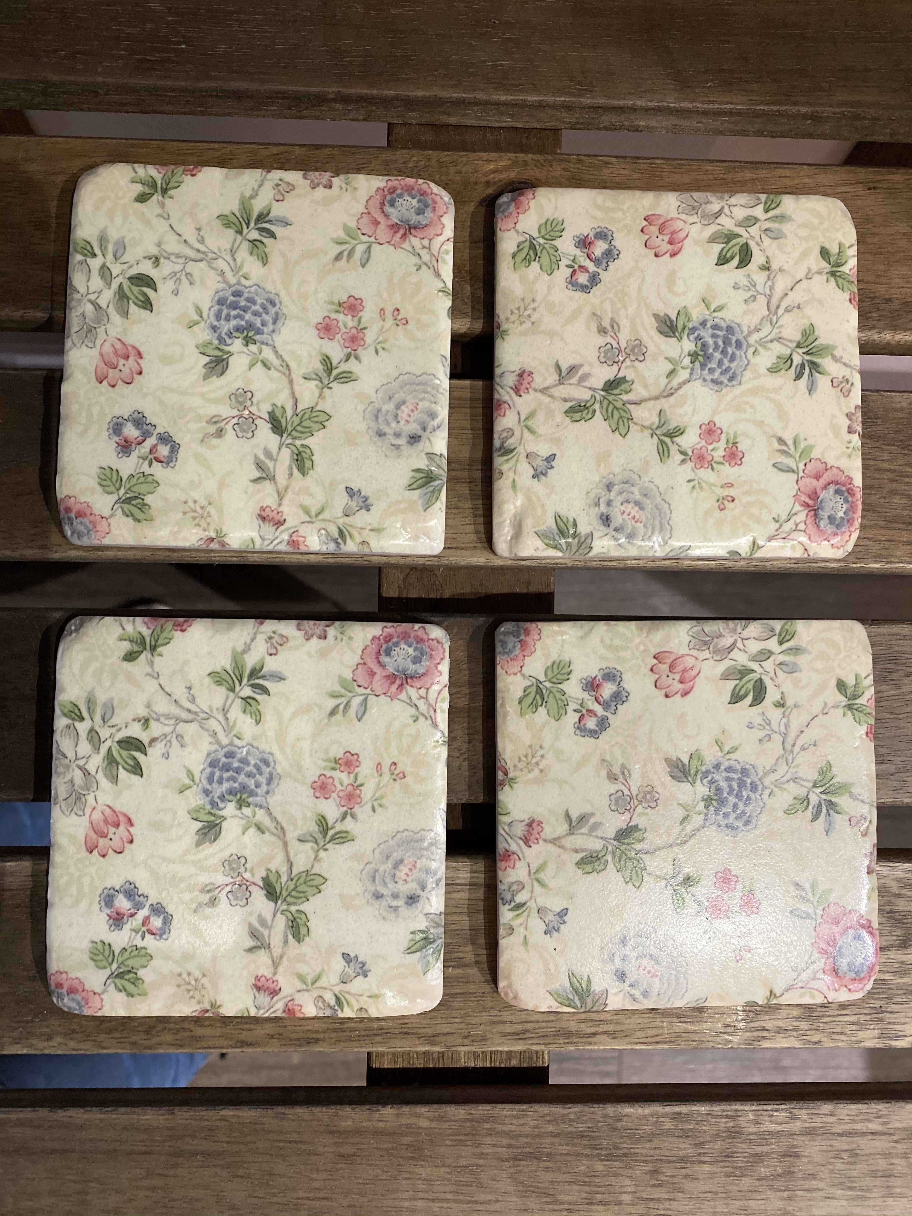 Coasters - Trailing Blooms