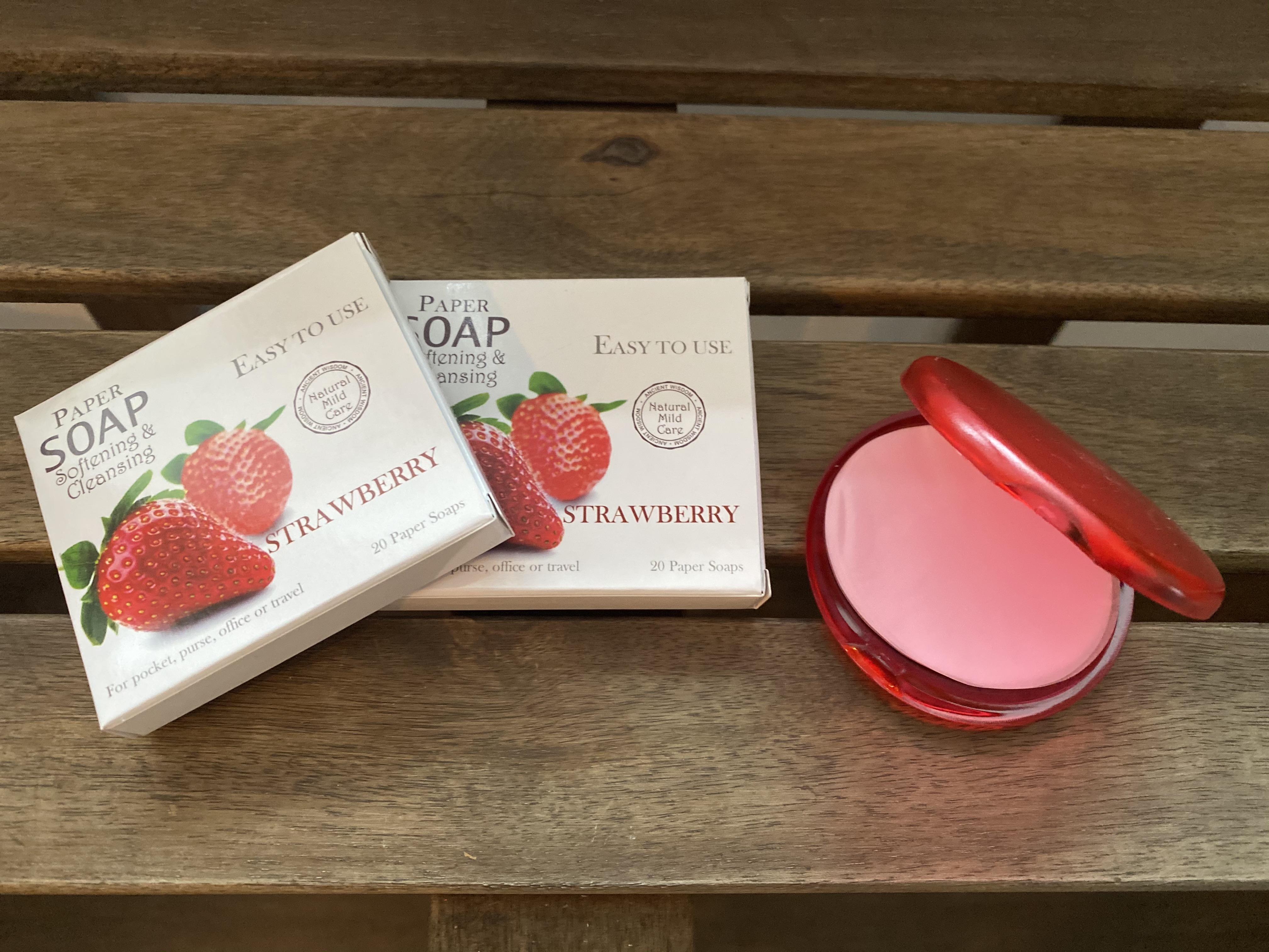 Paper Soap Strawberry