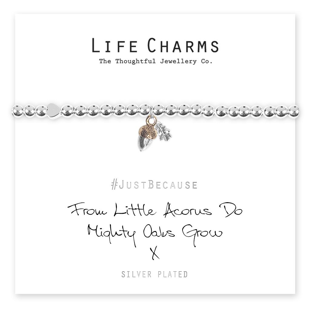 Life Charms Little Acorns