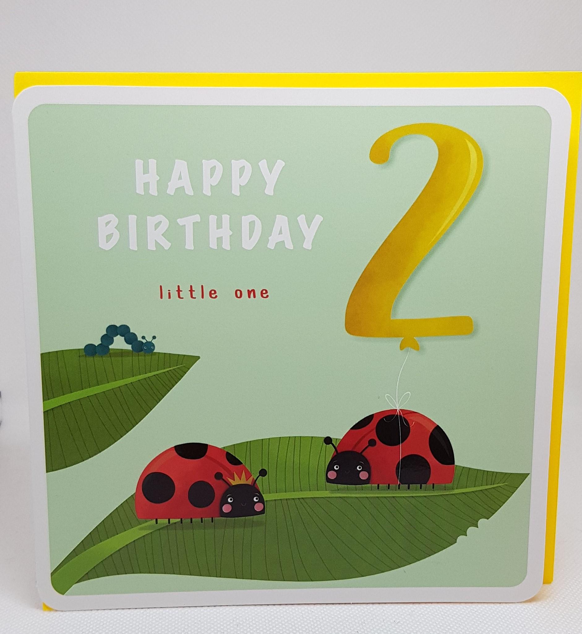 Birthday Age 2
