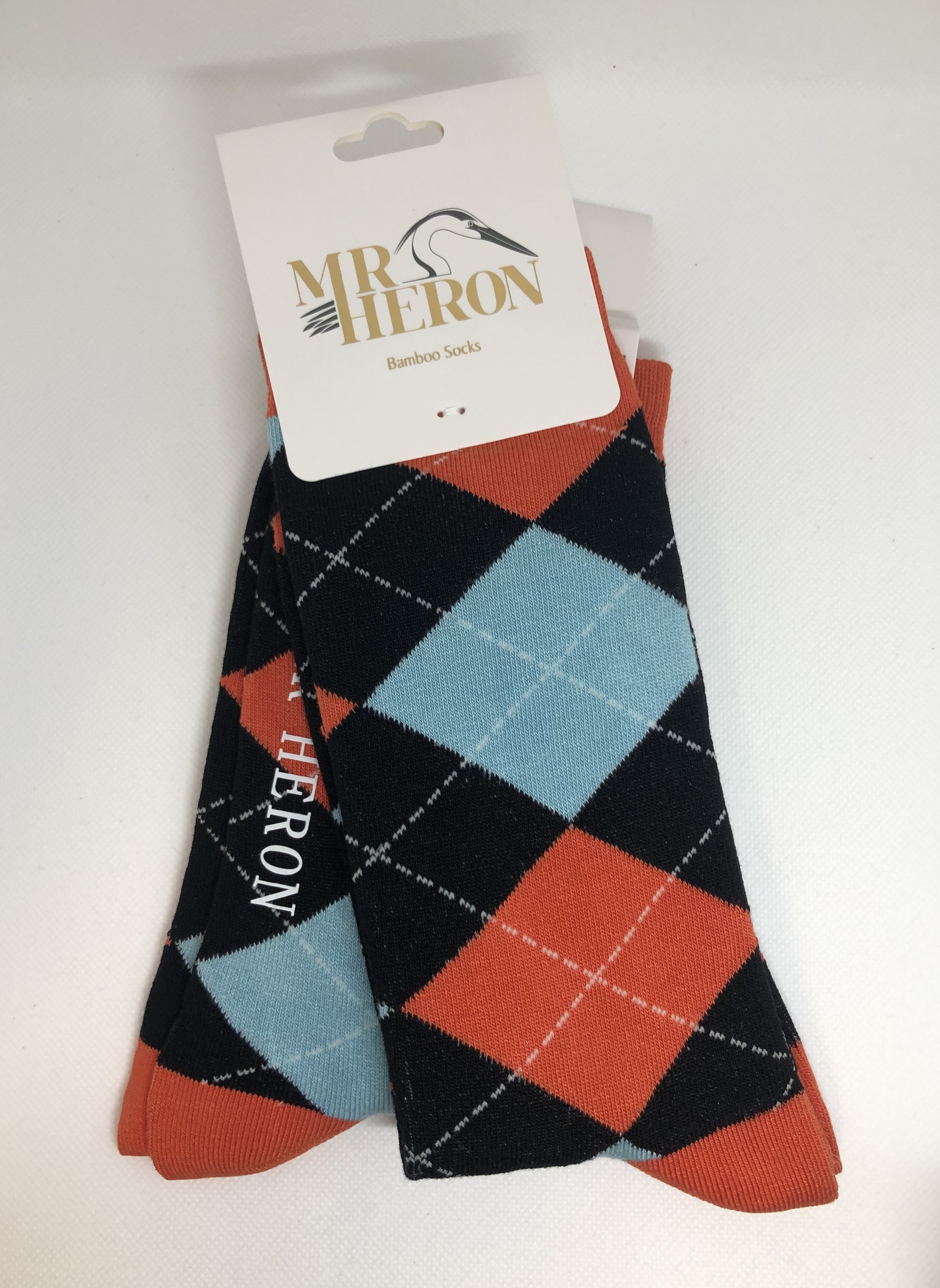 Argyle Socks Black