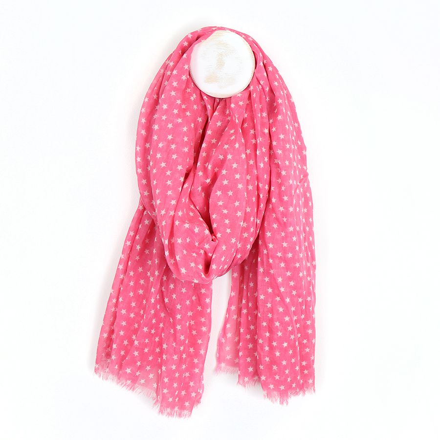 Pretty Pink With White Hearts 100% Cotton