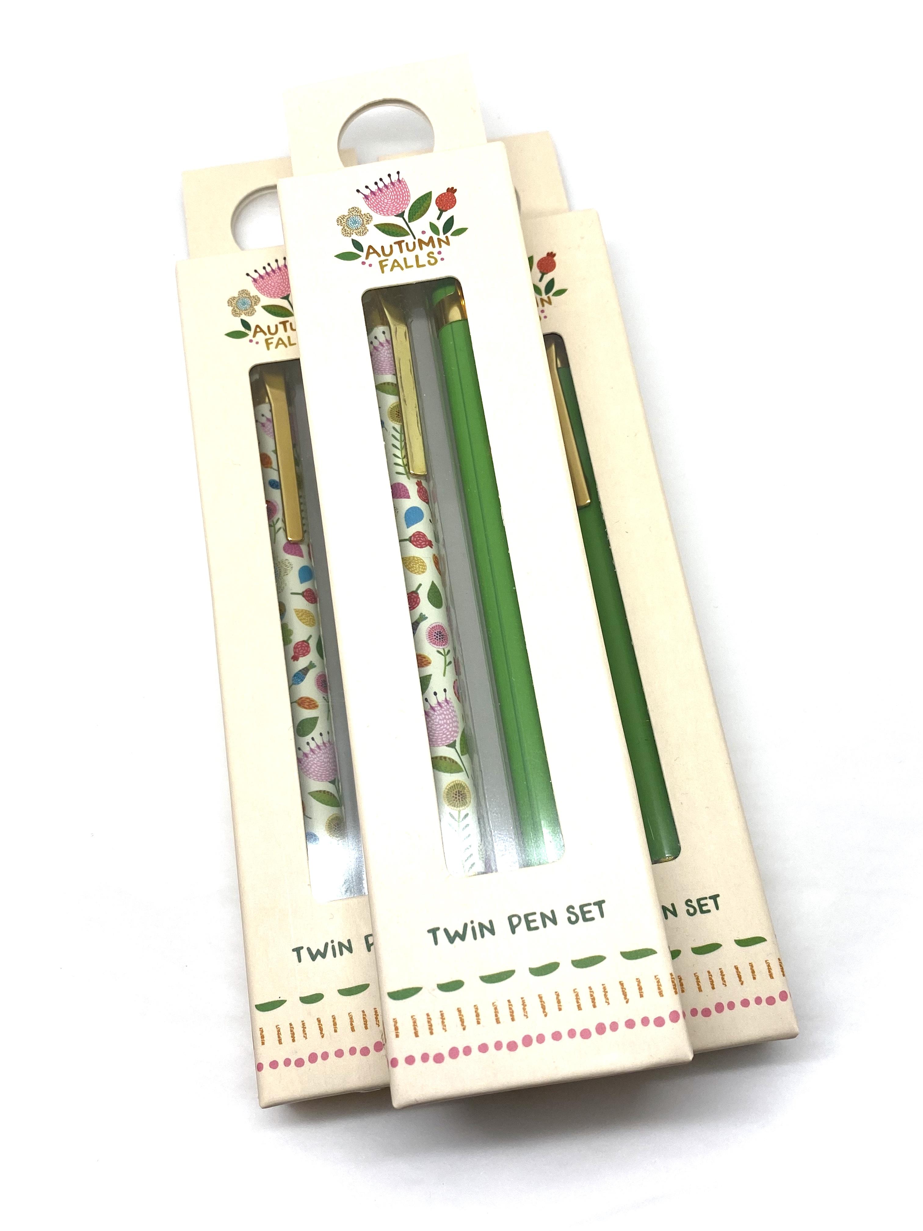 Autumn Falls Twin Pen Set