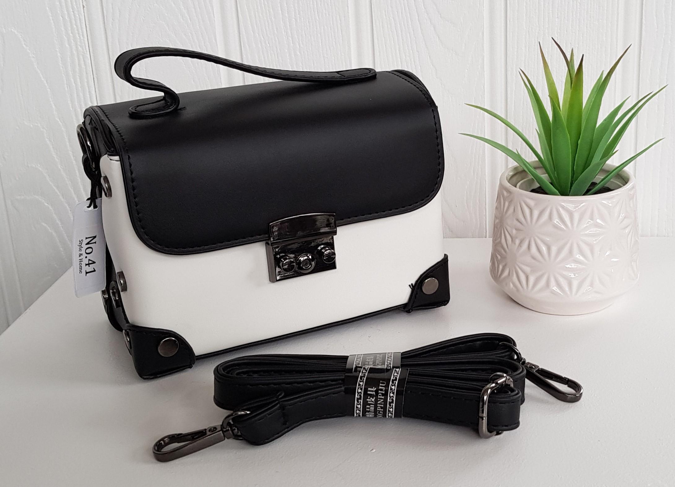 Bag - Black & White Camera Bag