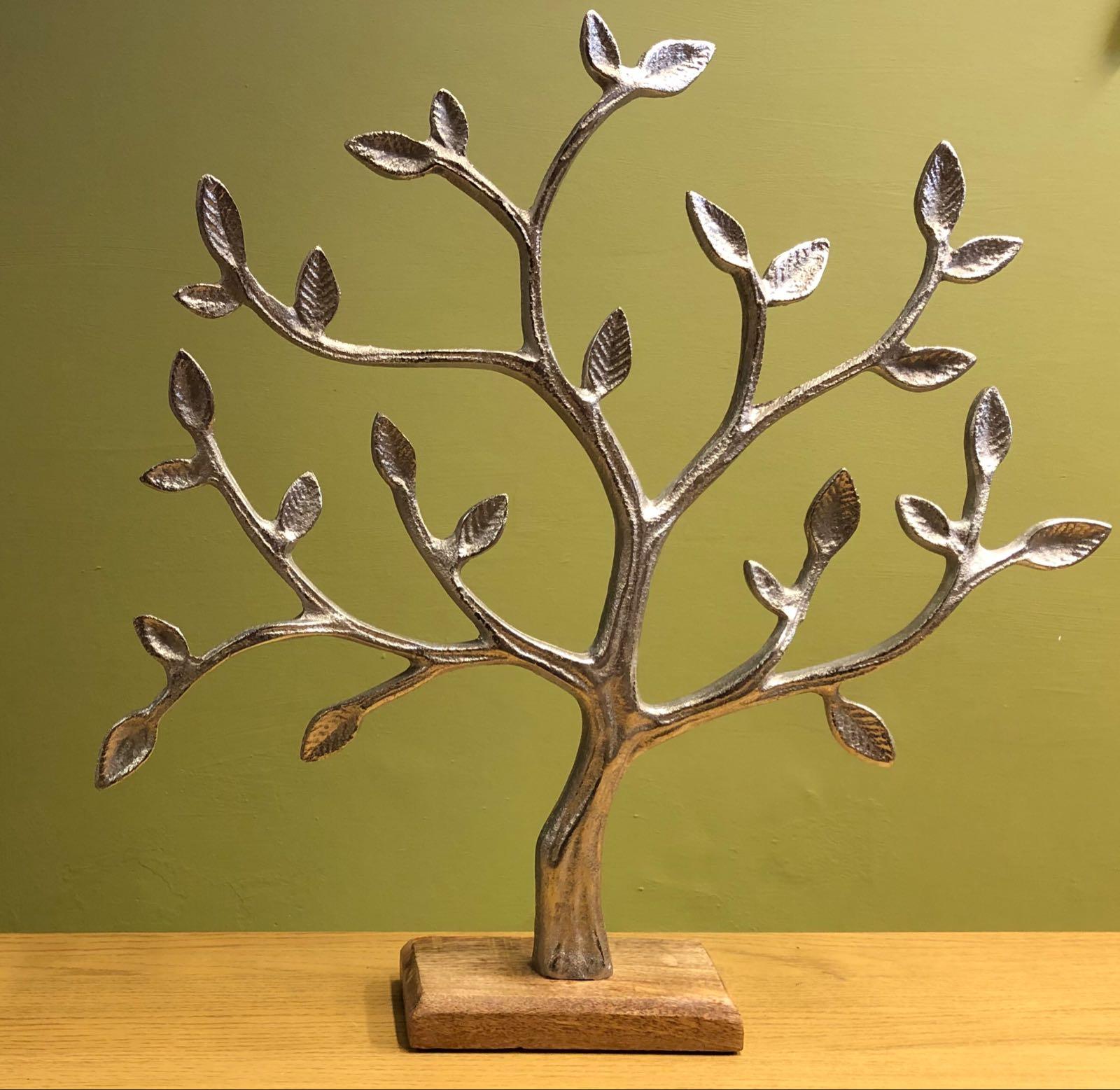 Large metal tree of life