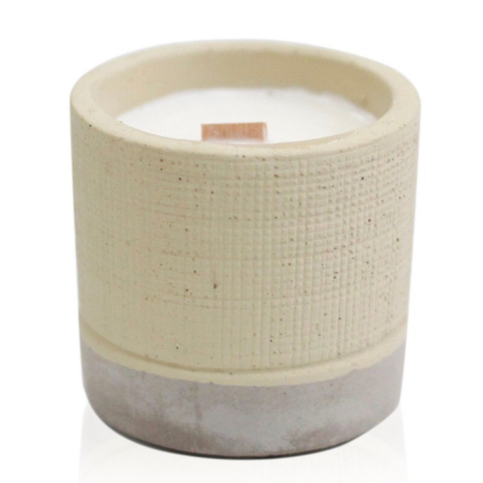 'Coffee in the Club' Concrete Candle (Was £8.75)